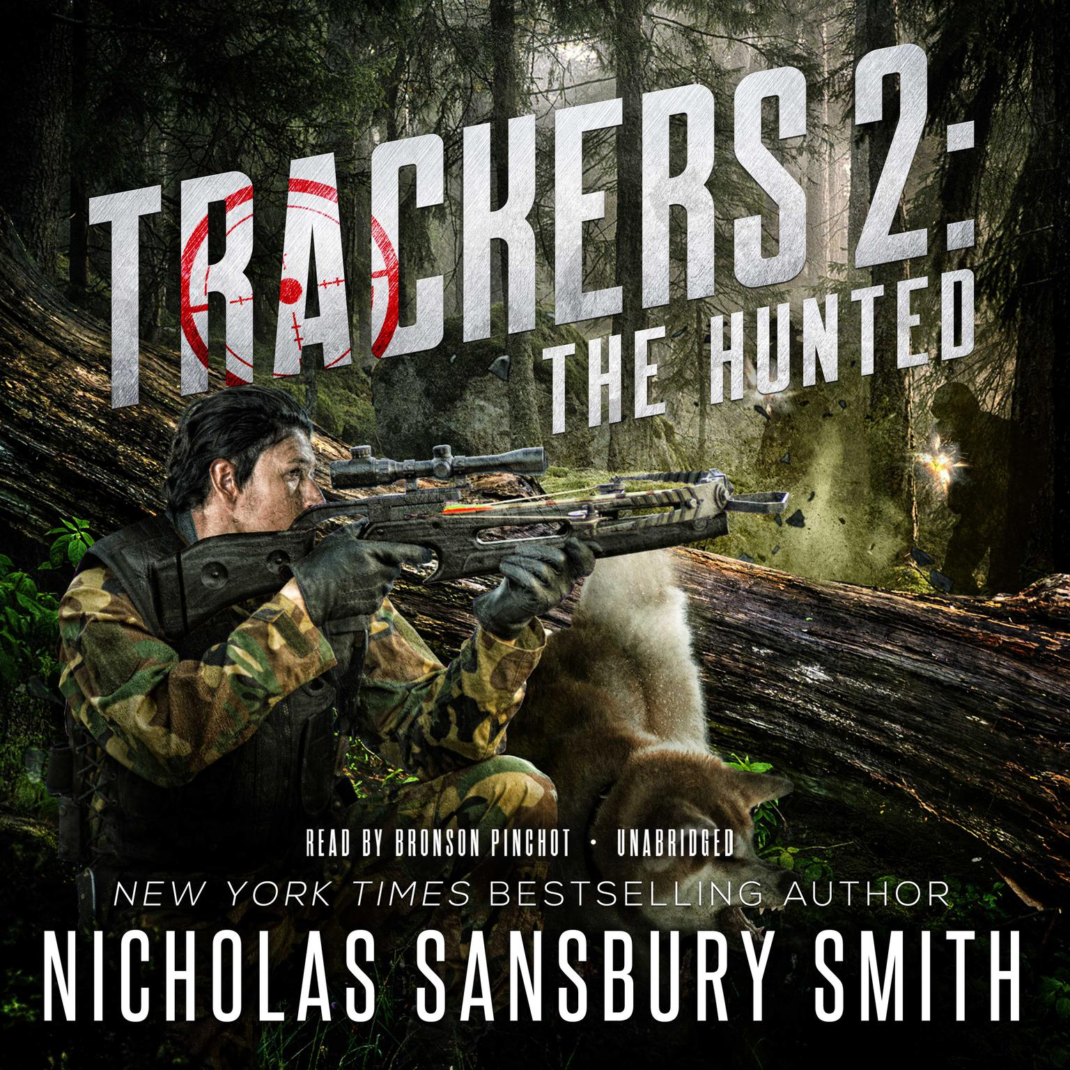 Printable Trackers 2: The Hunted Audiobook Cover Art