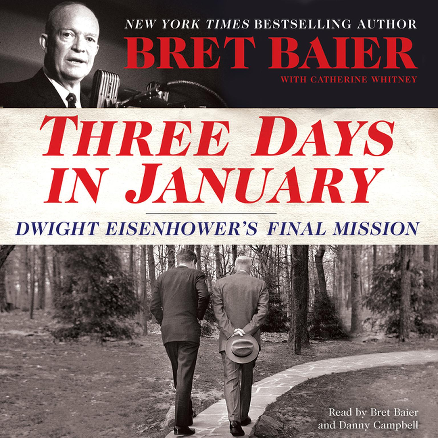 Printable Three Days in January: Dwight Eisenhower's Final Mission Audiobook Cover Art