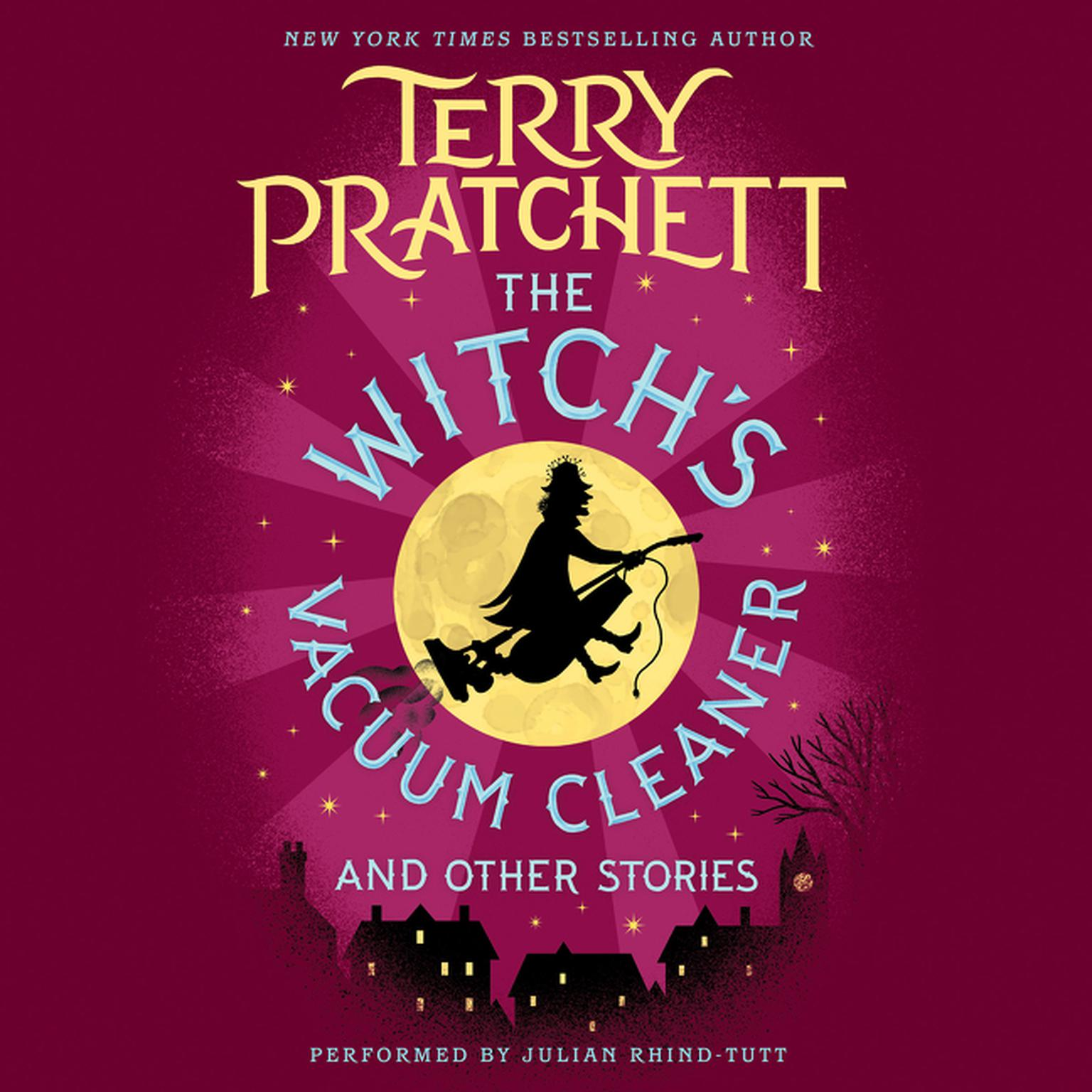 Printable The Witch's Vacuum Cleaner and Other Stories Audiobook Cover Art