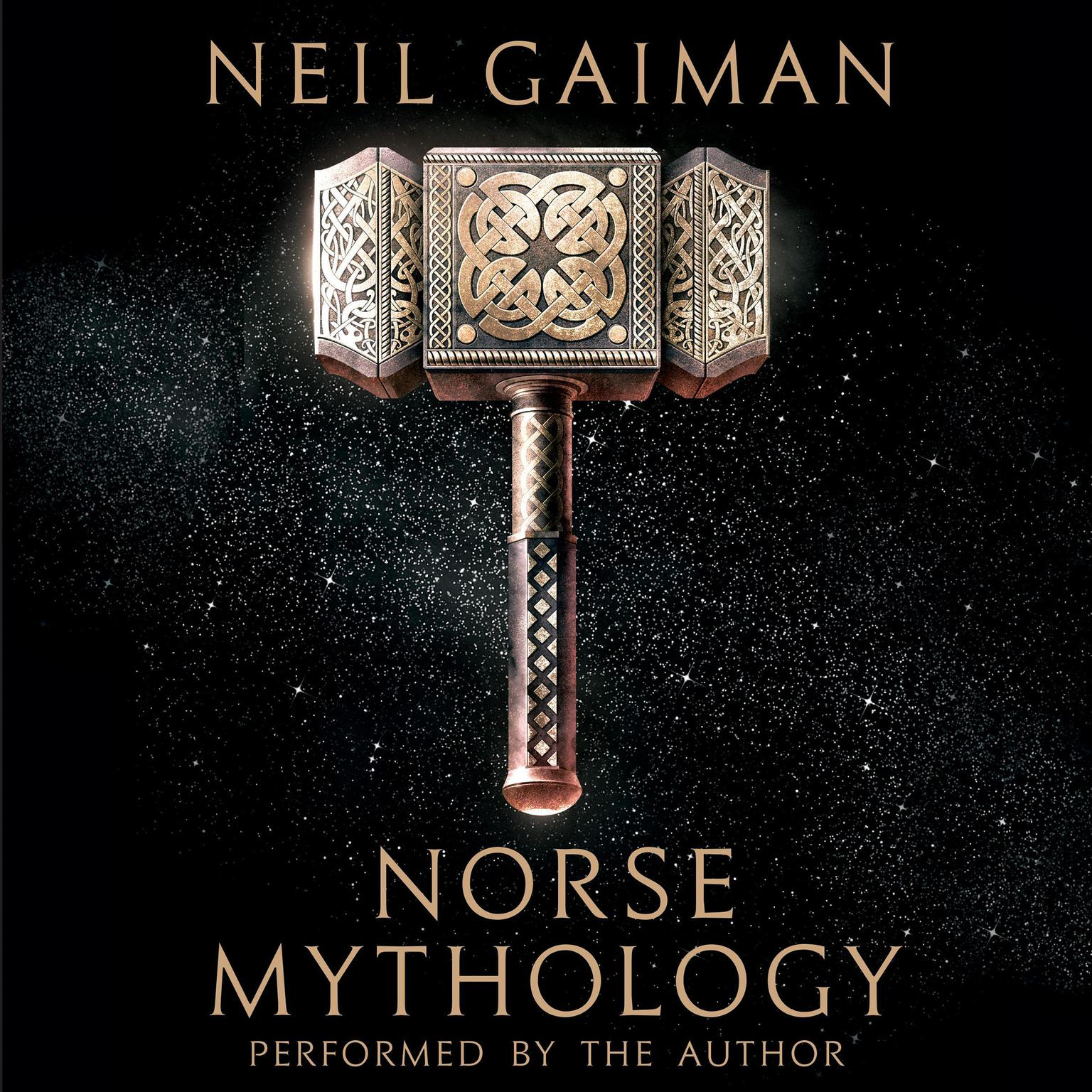 Printable Norse Mythology Audiobook Cover Art