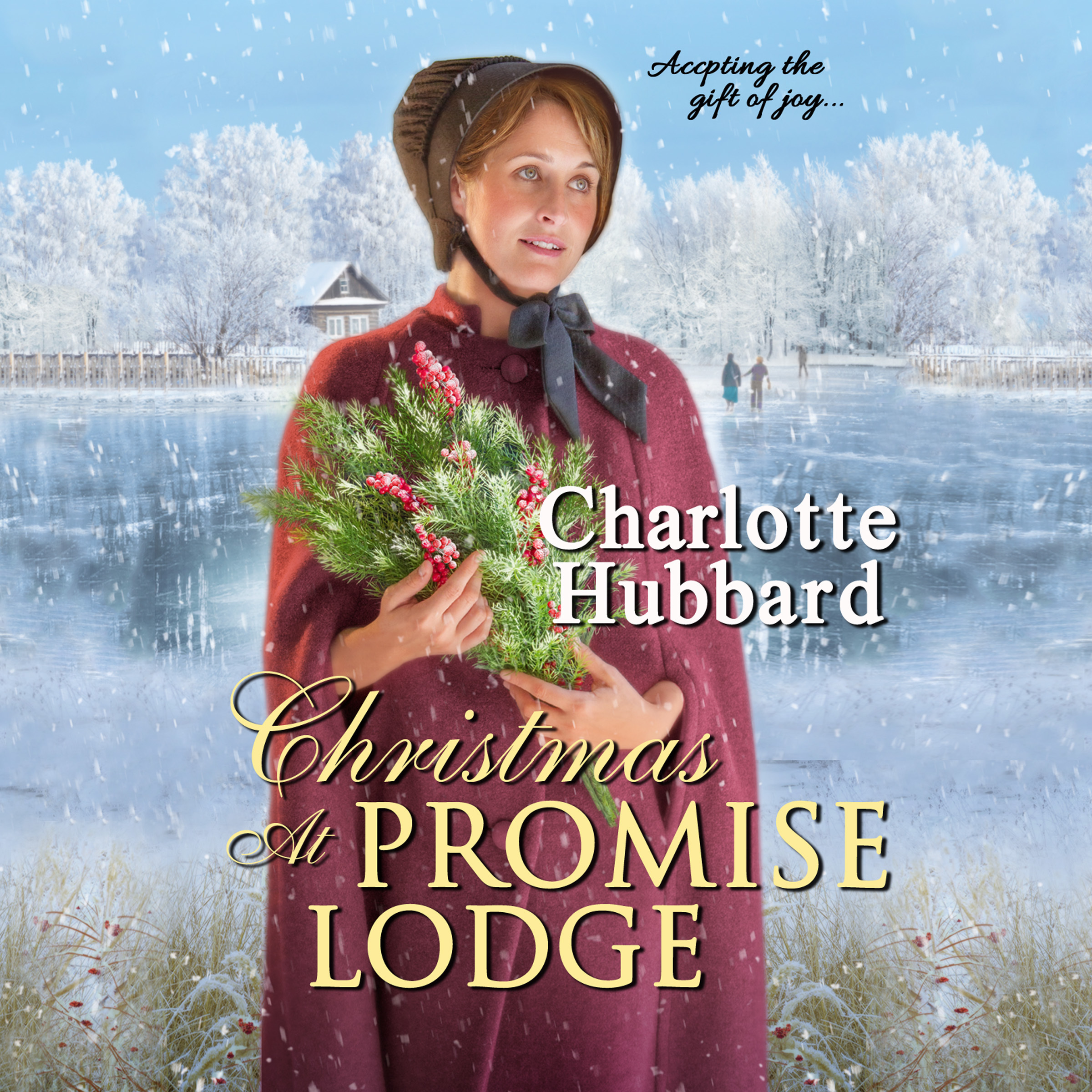 Printable Christmas At Promise Lodge Audiobook Cover Art
