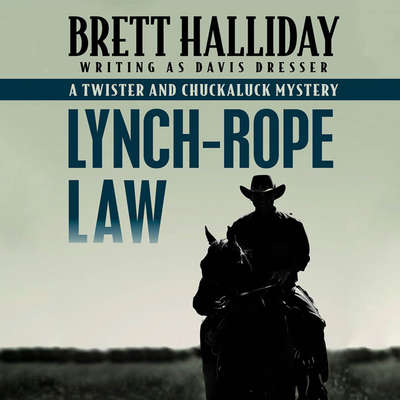 Lynch-Rope Law Audiobook, by Brett Halliday