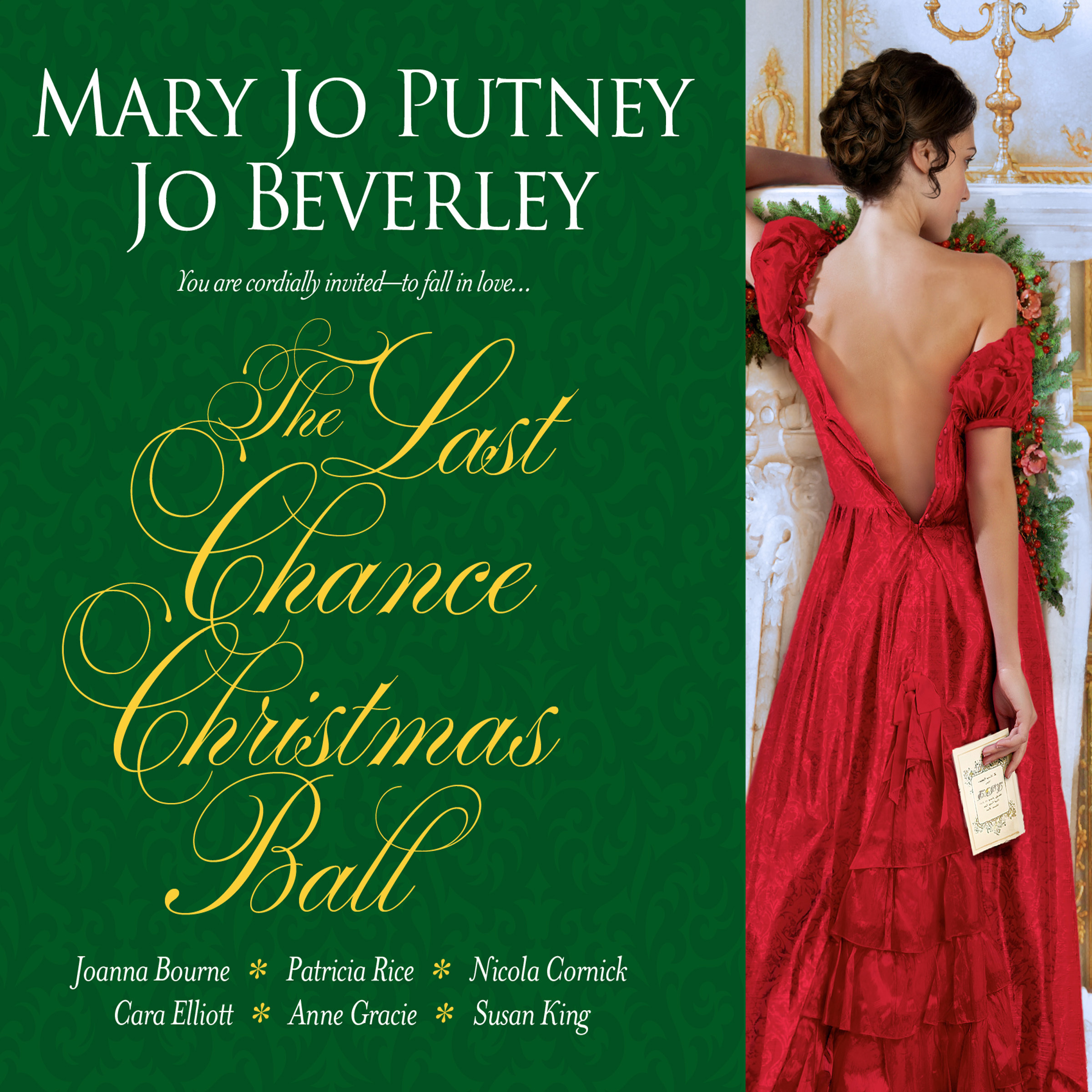 Printable The Last Chance Christmas Ball Audiobook Cover Art