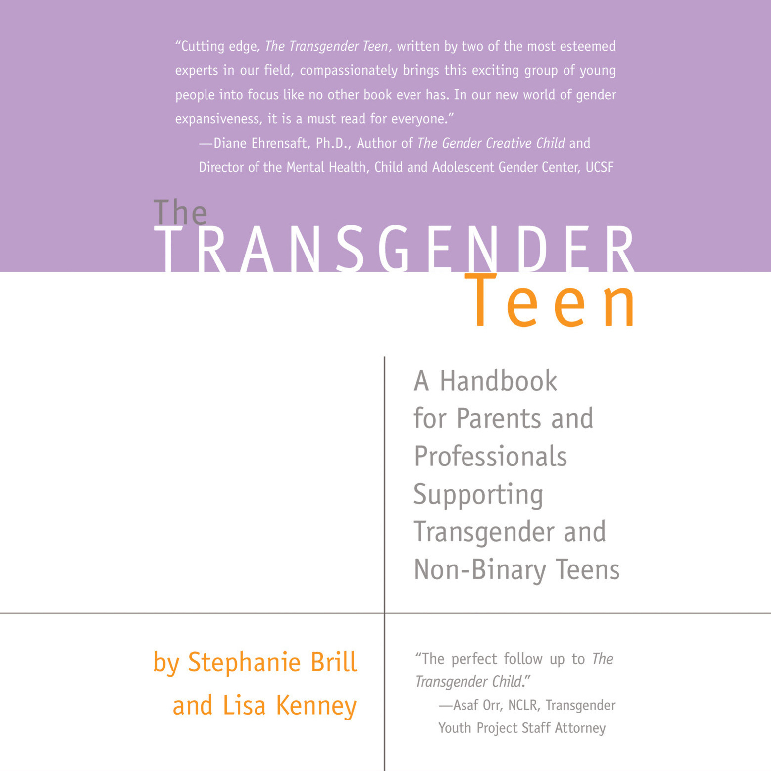 Printable The Transgender Teen: A Handbook for Parents and Professionals Supporting Transgender and Non-Binary Teens Audiobook Cover Art