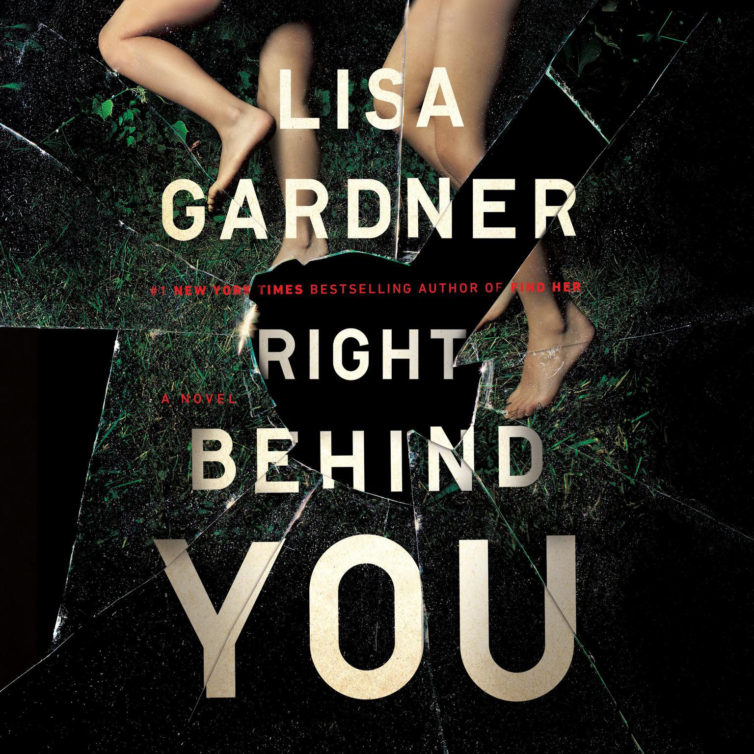 Printable Right Behind You Audiobook Cover Art