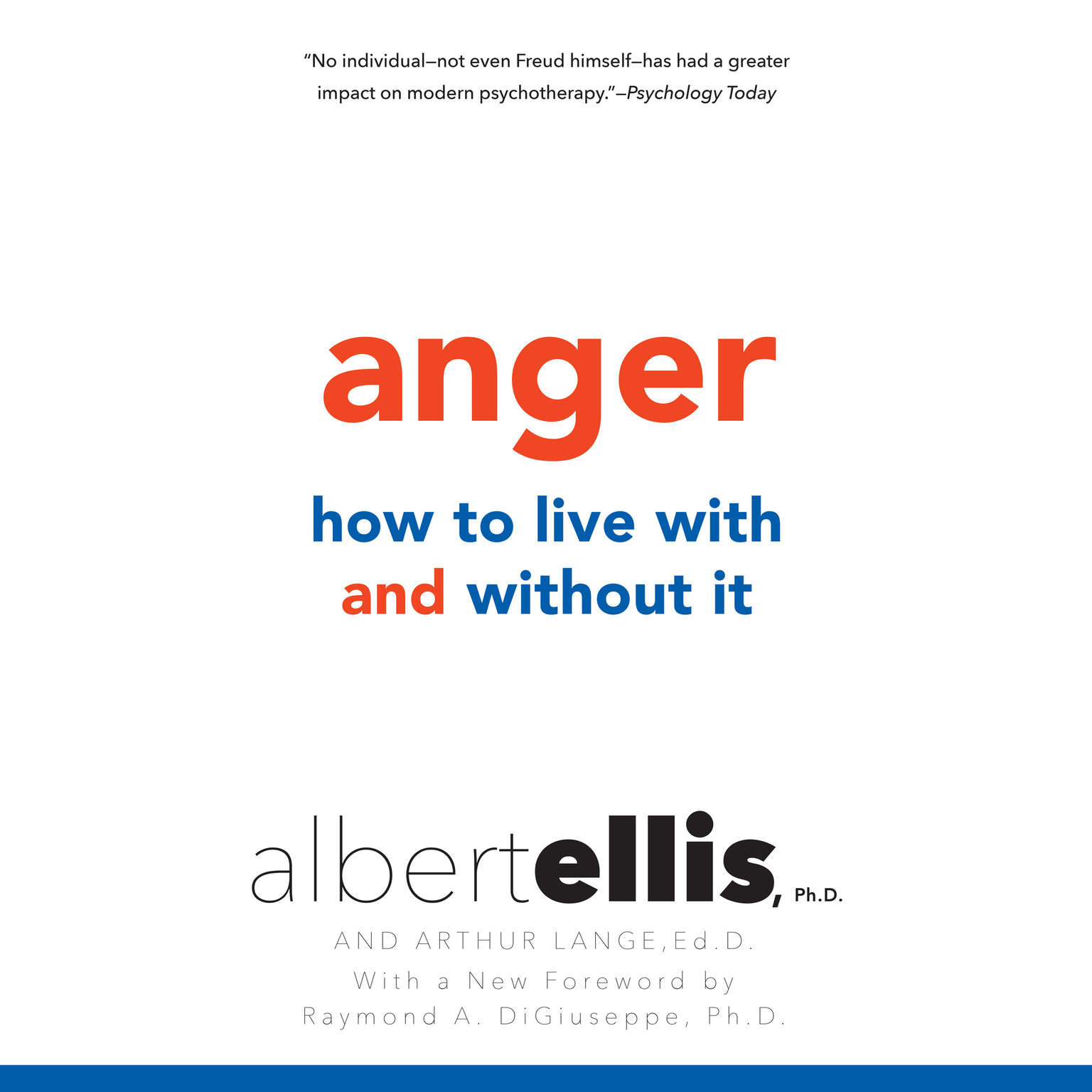 Printable Anger: How to Live With It and Without It Audiobook Cover Art