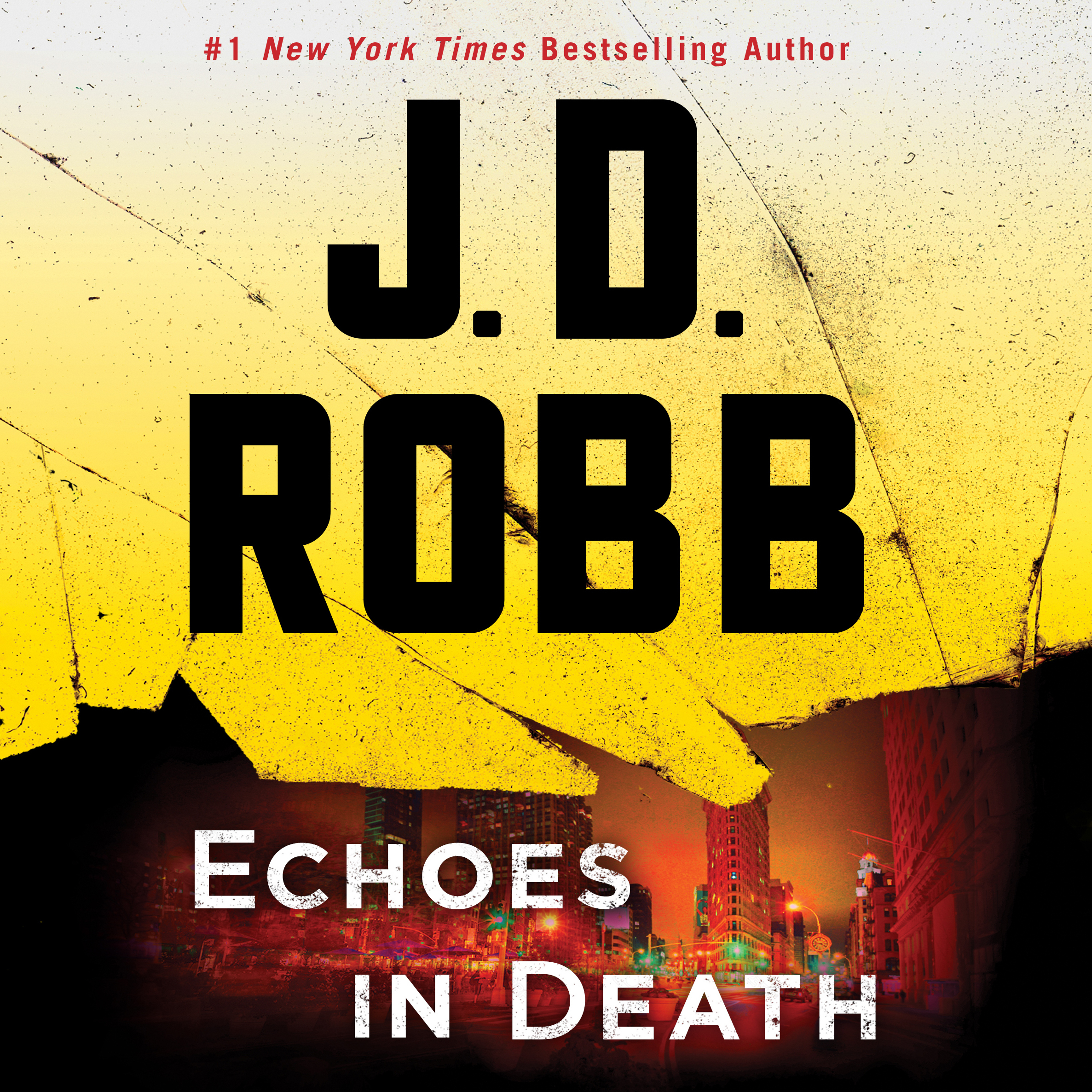 Printable Echoes in Death Audiobook Cover Art