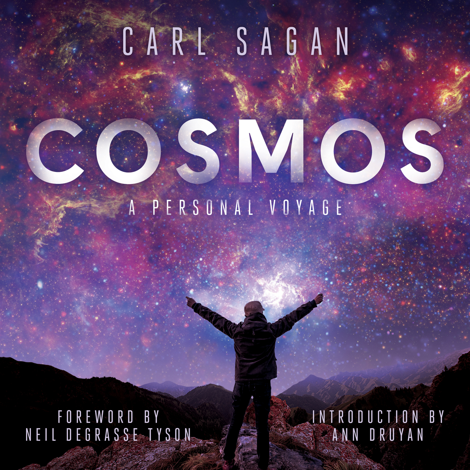 Printable Cosmos: A Personal Voyage Audiobook Cover Art