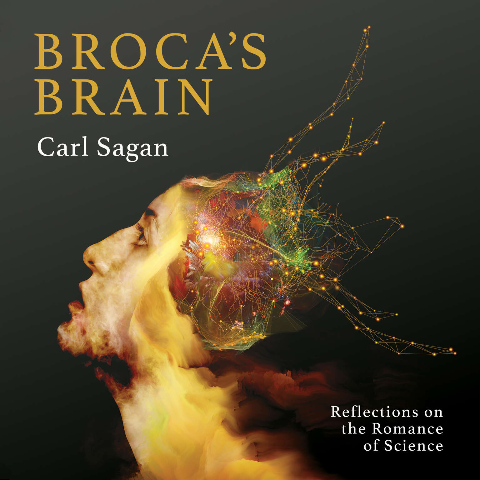 Printable Broca's Brain: Reflections on the Romance of Science Audiobook Cover Art