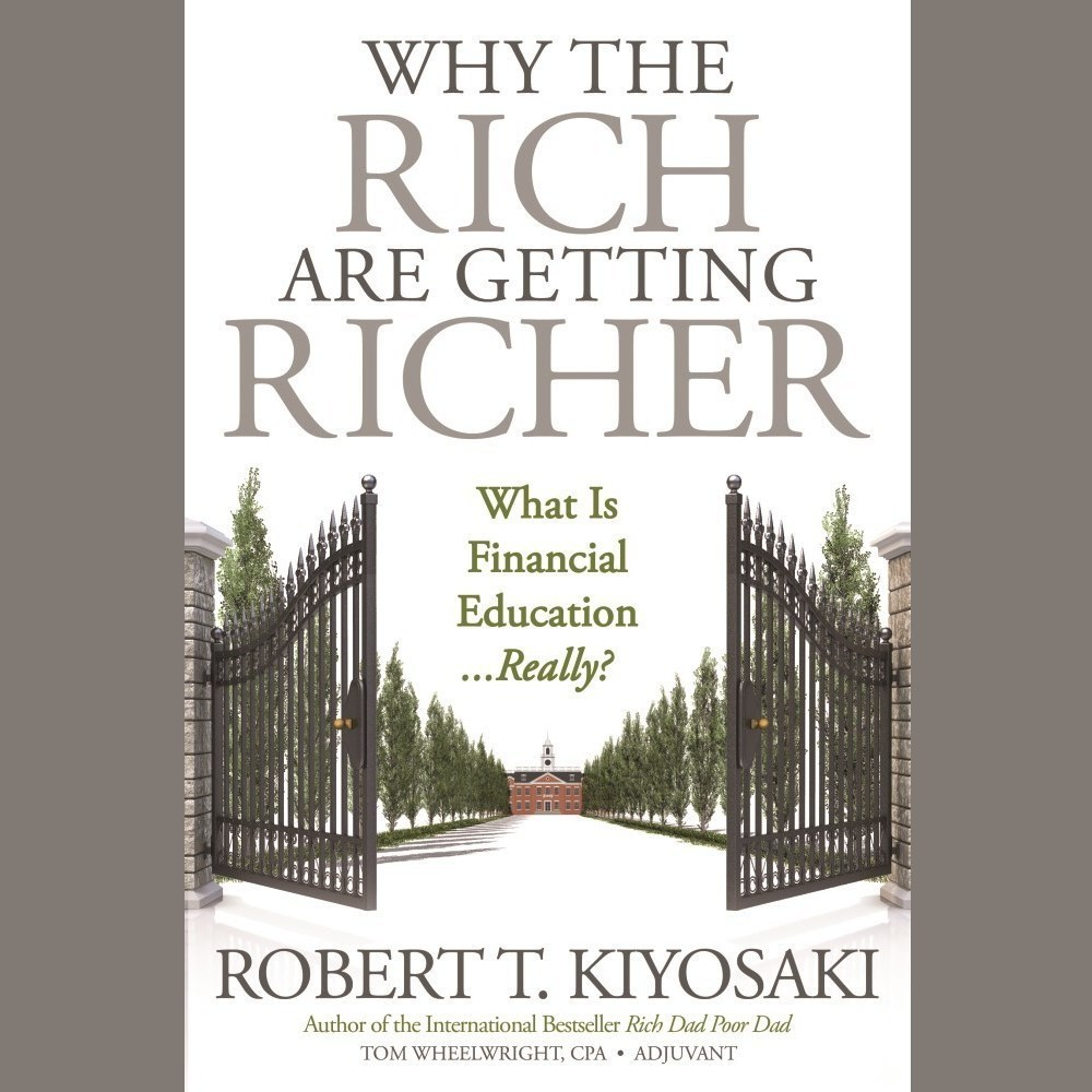 Printable Why the Rich Are Getting Richer Audiobook Cover Art