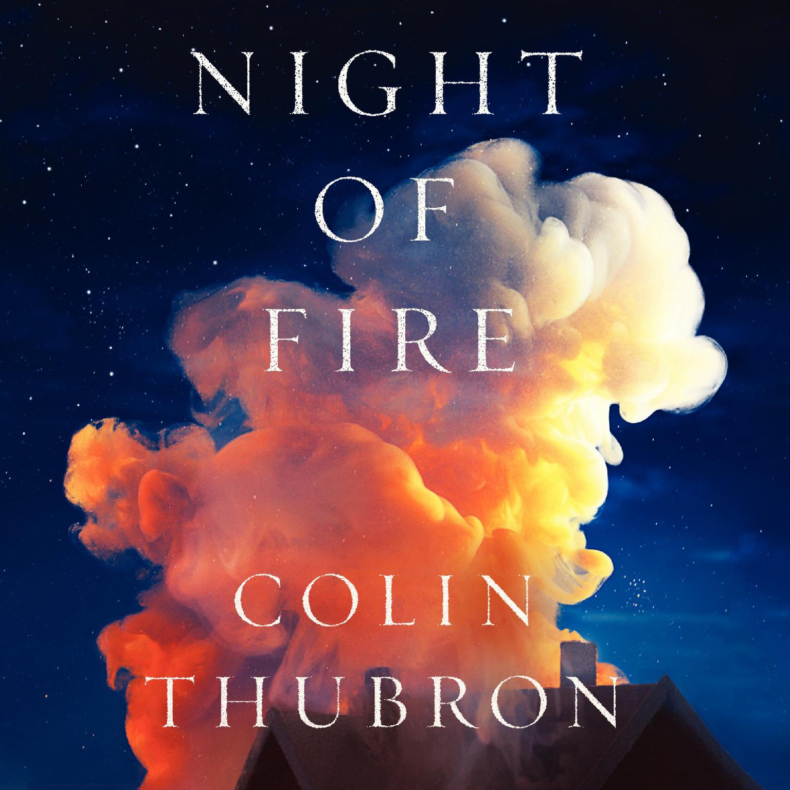 Printable Night of Fire: A Novel Audiobook Cover Art
