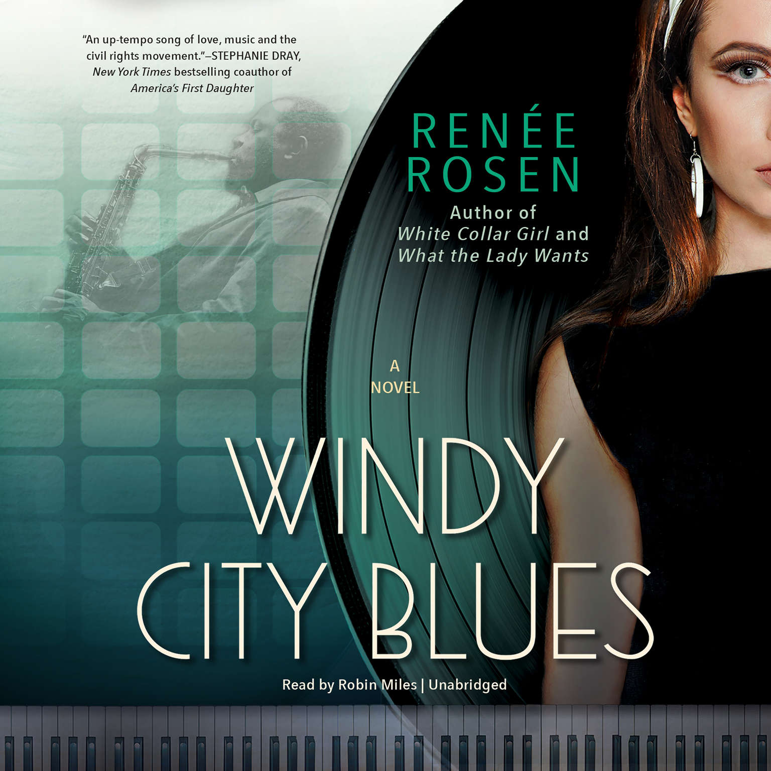 Printable Windy City Blues: A Novel Audiobook Cover Art