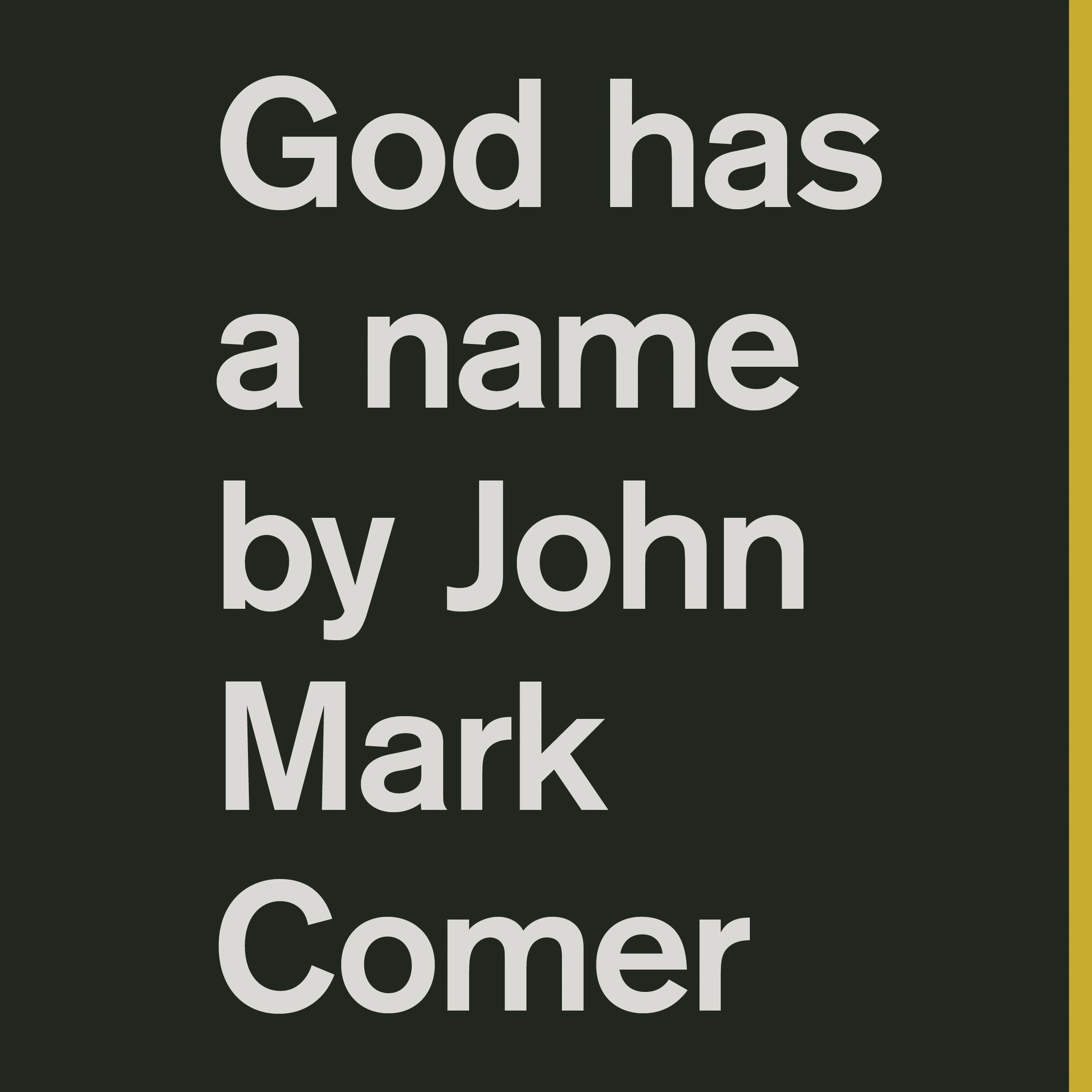 Printable God Has a Name Audiobook Cover Art