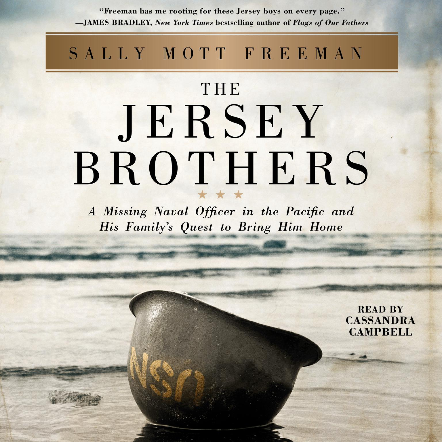 Printable The Jersey Brothers: A Missing Naval Officer in the Pacific and His Family's Quest to Bring Him Home Audiobook Cover Art