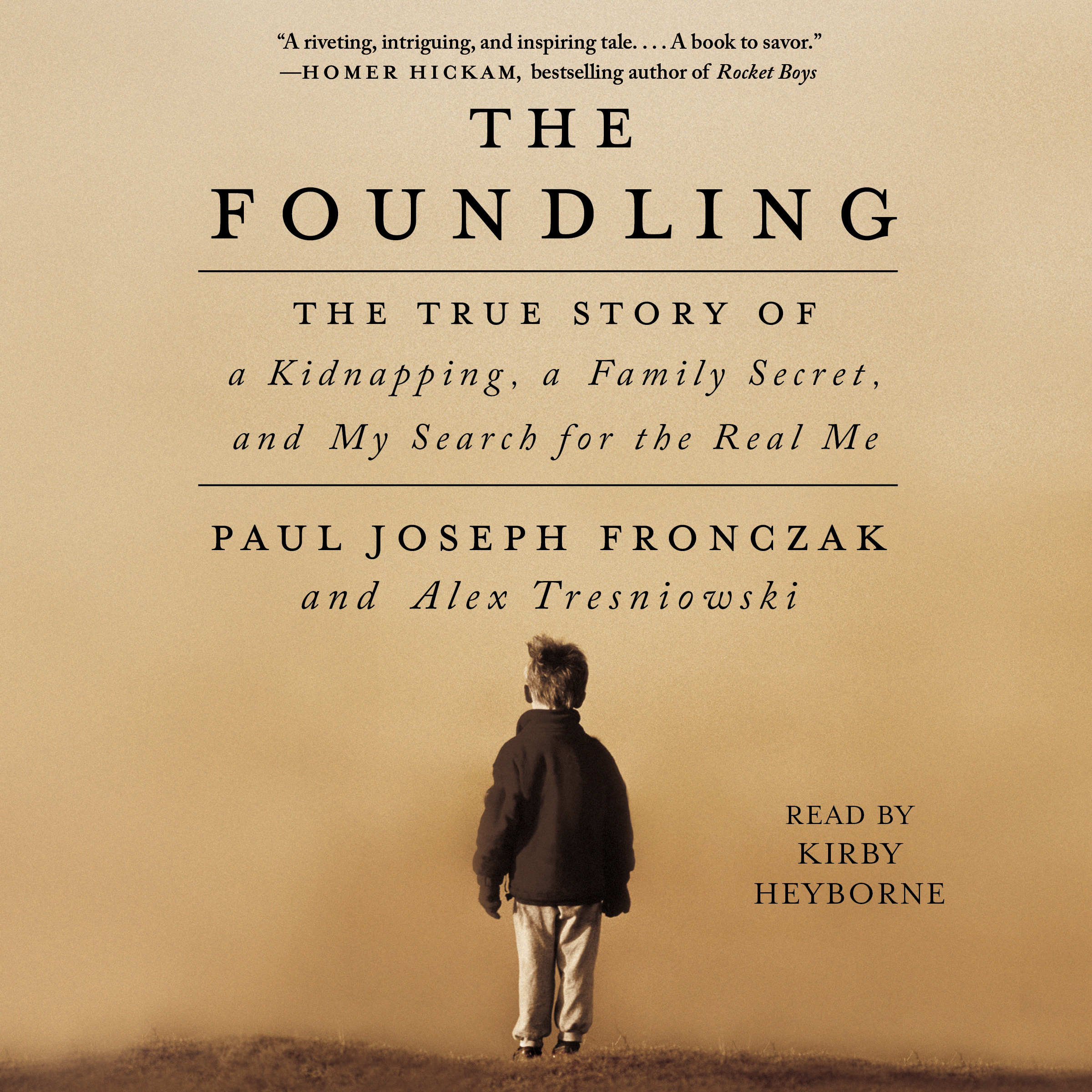 Printable The Foundling: The True Story of a Kidnapping, a Family Secret, and My Search for the Real Me Audiobook Cover Art