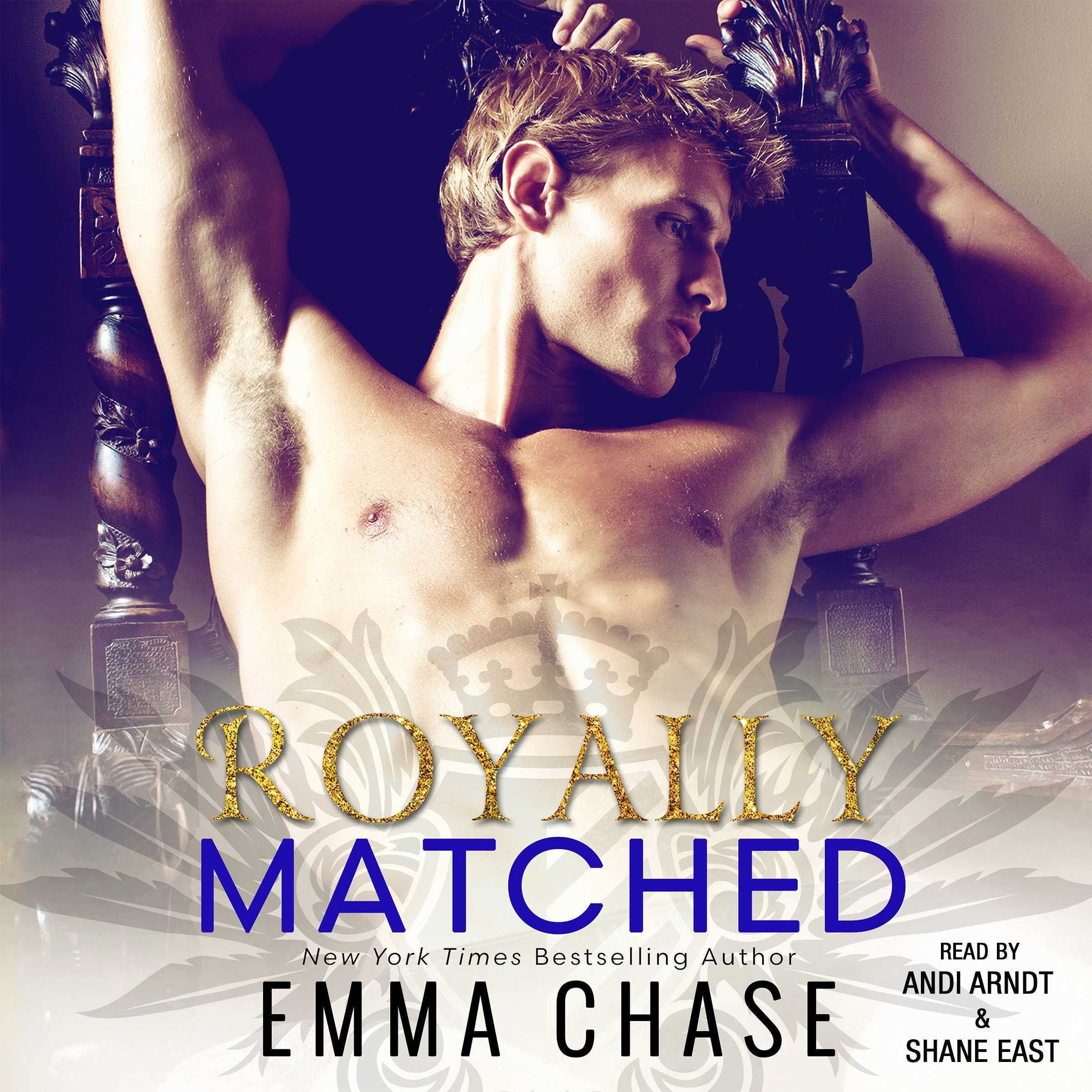 Printable Royally Matched Audiobook Cover Art