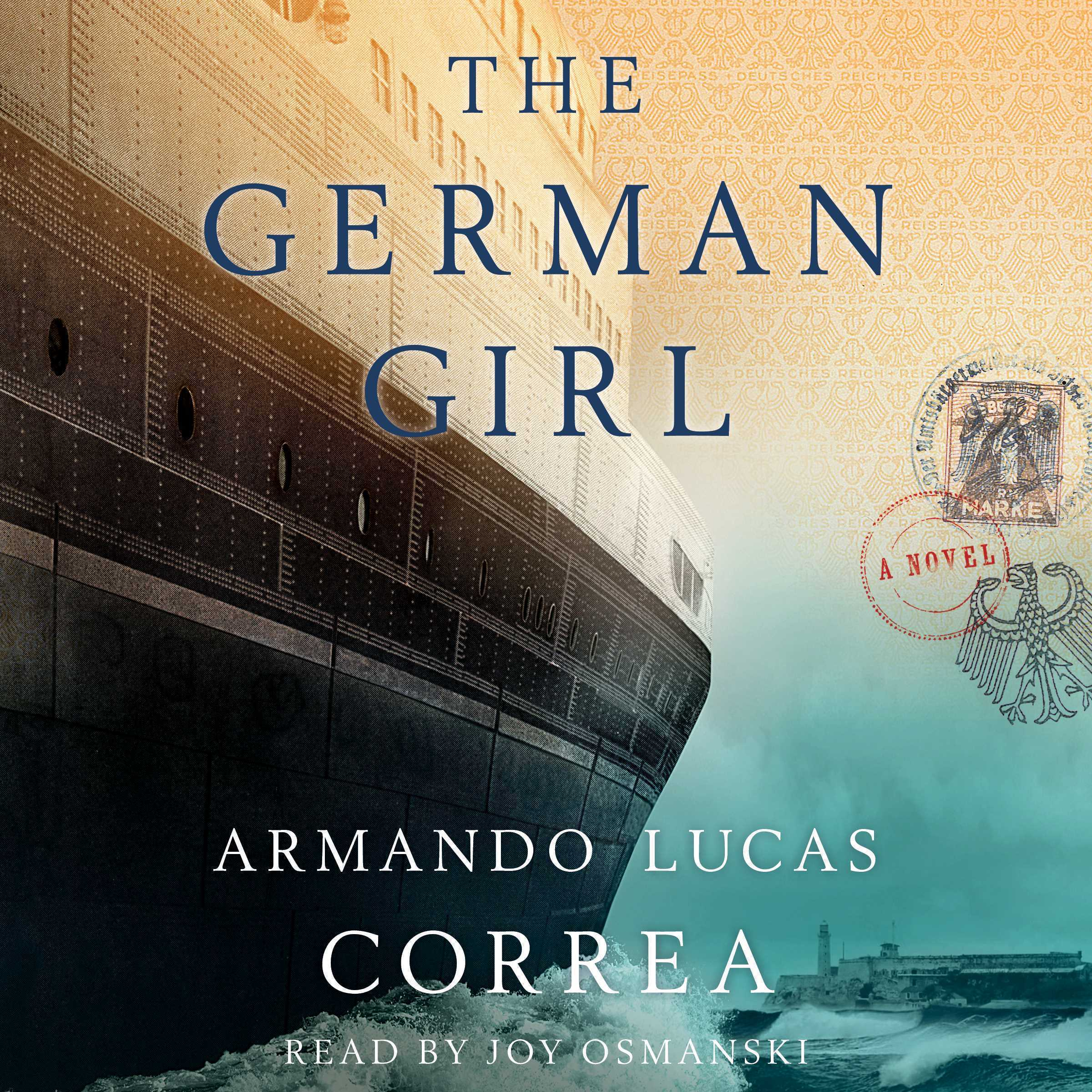 Printable The German Girl: A Novel Audiobook Cover Art