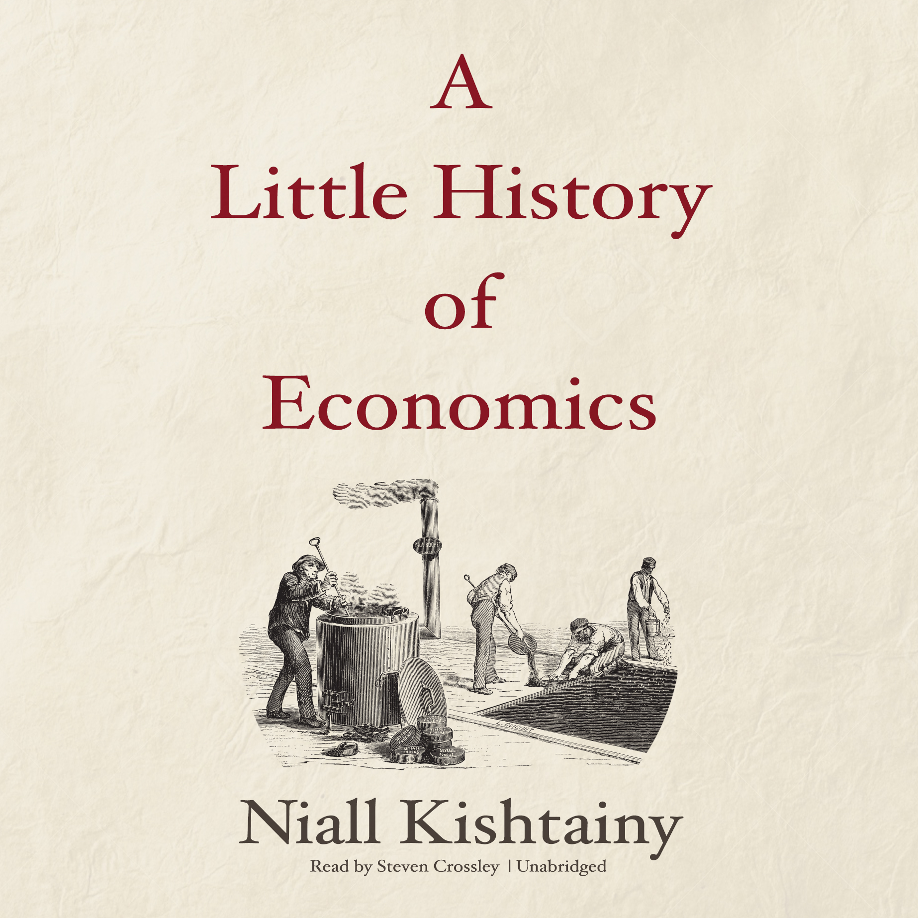 Printable A Little History of Economics Audiobook Cover Art