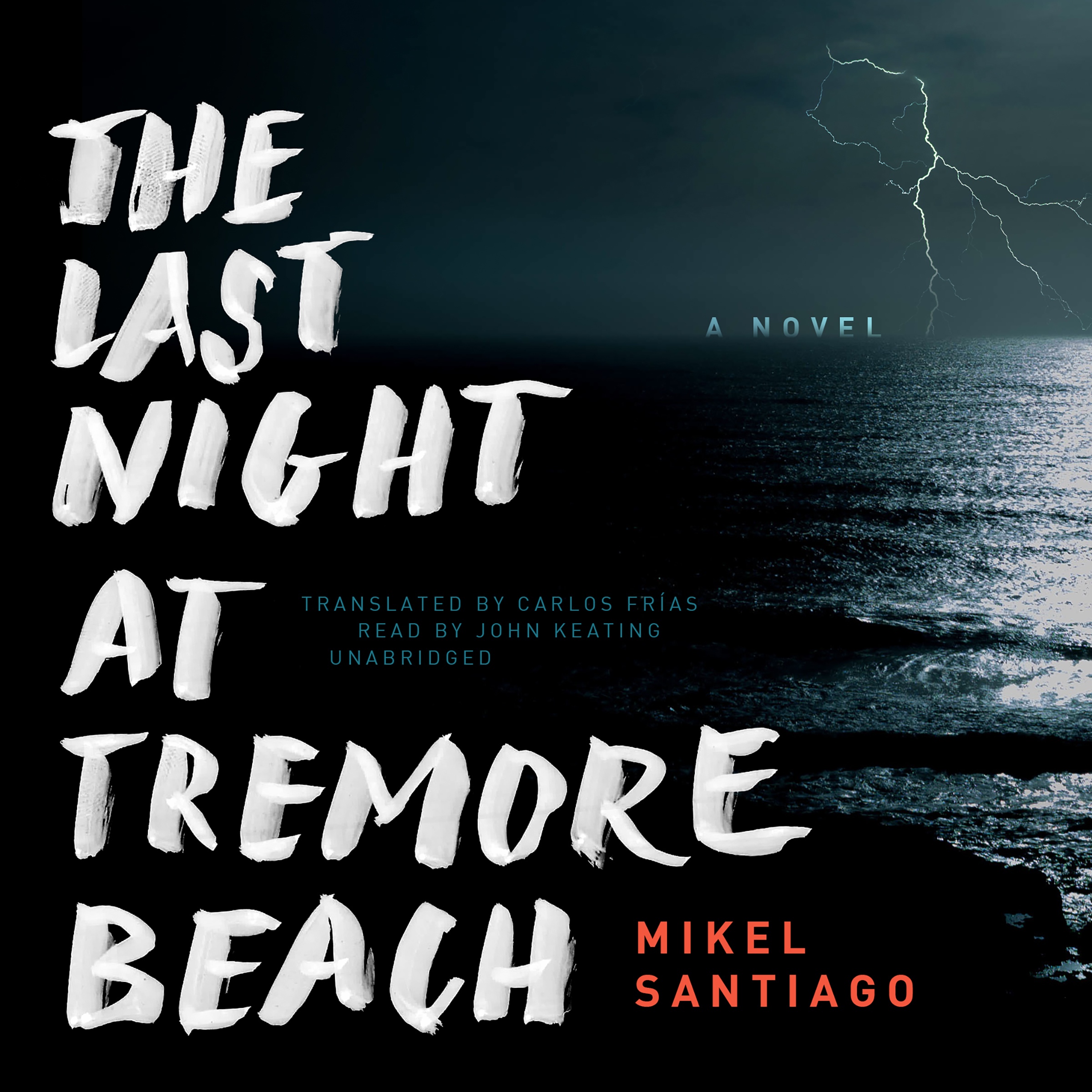 Printable The Last Night at Tremore Beach: A Novel Audiobook Cover Art