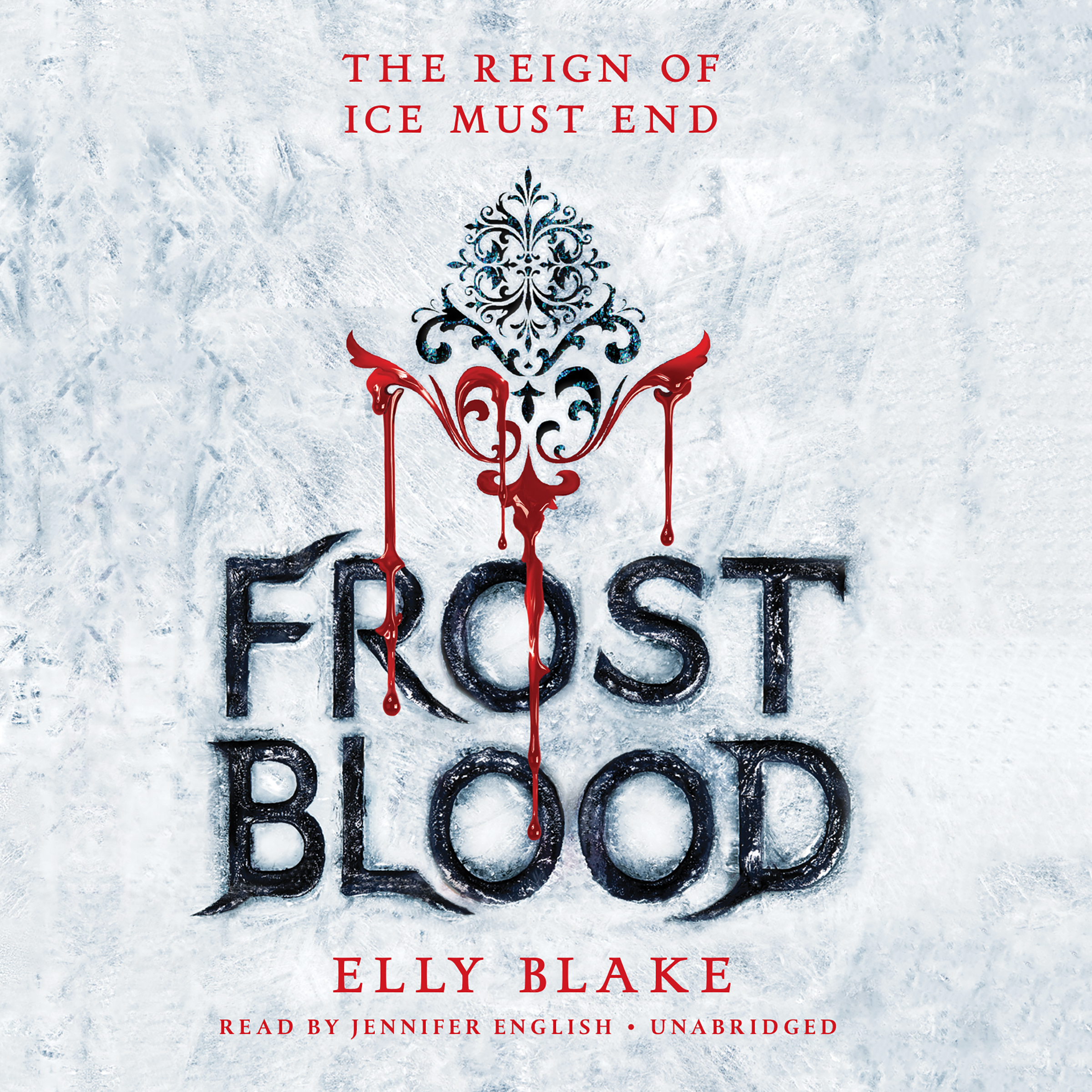 Printable Frostblood Audiobook Cover Art