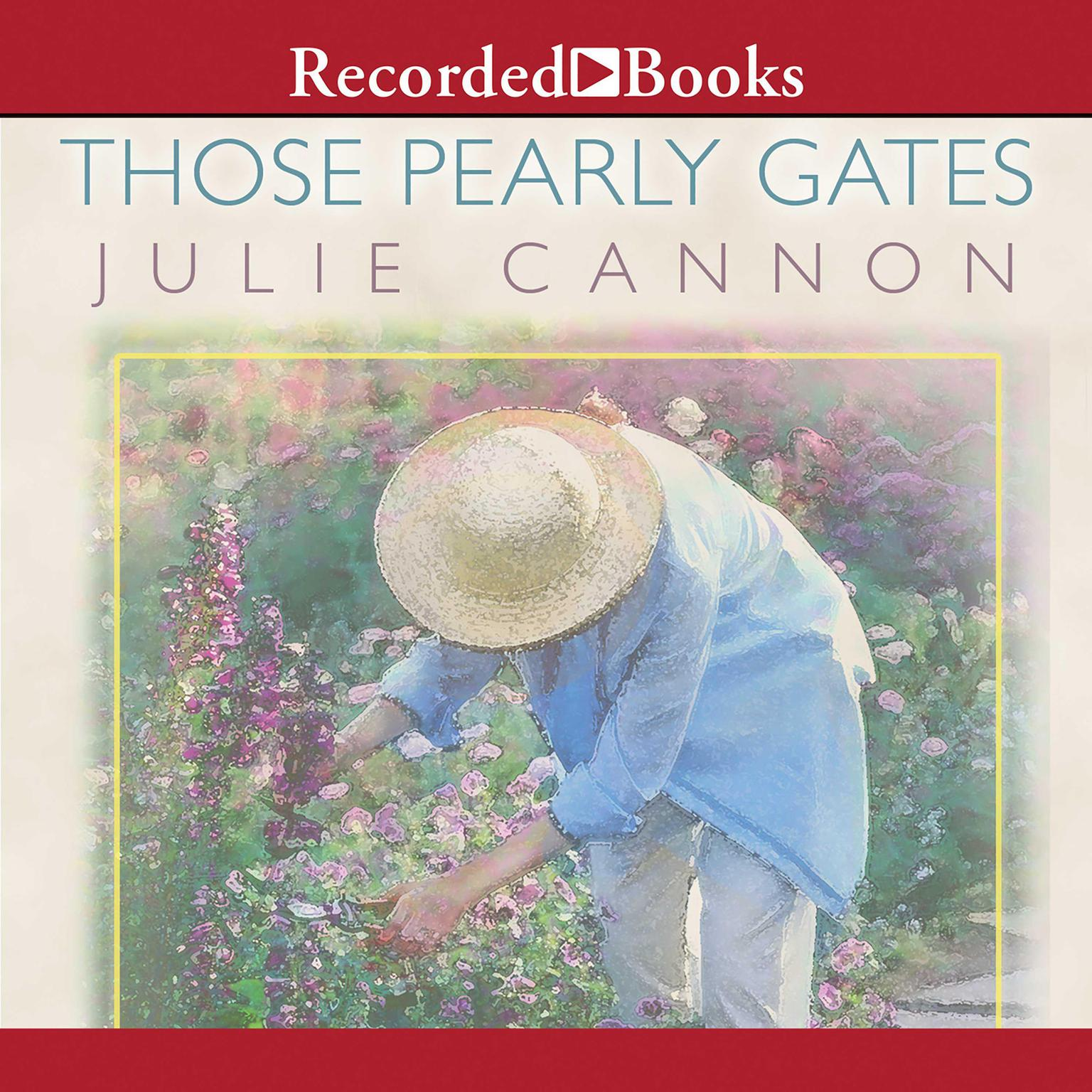 Printable Those Pearly Gates Audiobook Cover Art