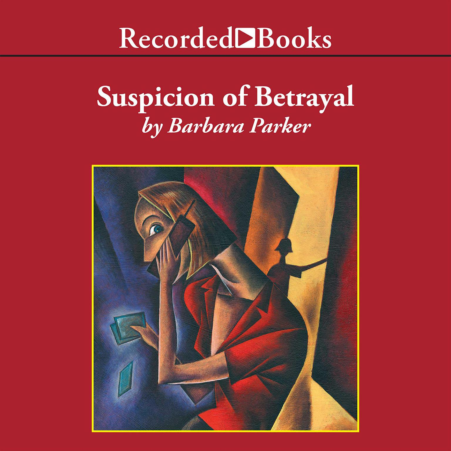 Printable Suspicion of Betrayal Audiobook Cover Art