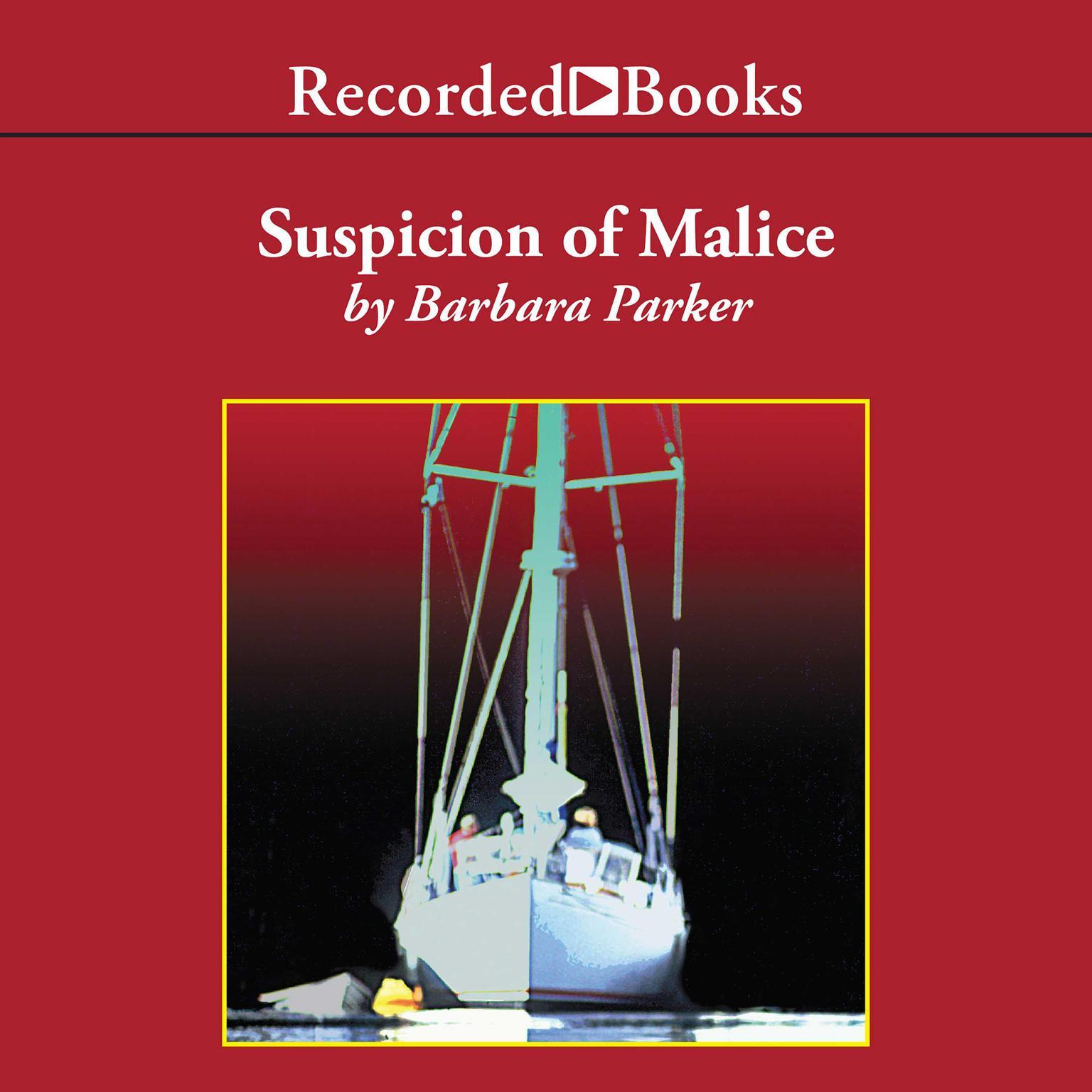Printable Suspicion of Malice Audiobook Cover Art
