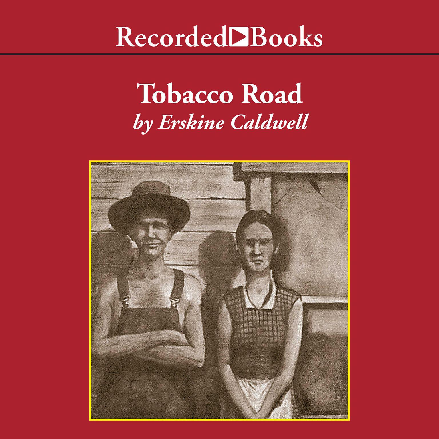 Printable Tobacco Road Audiobook Cover Art