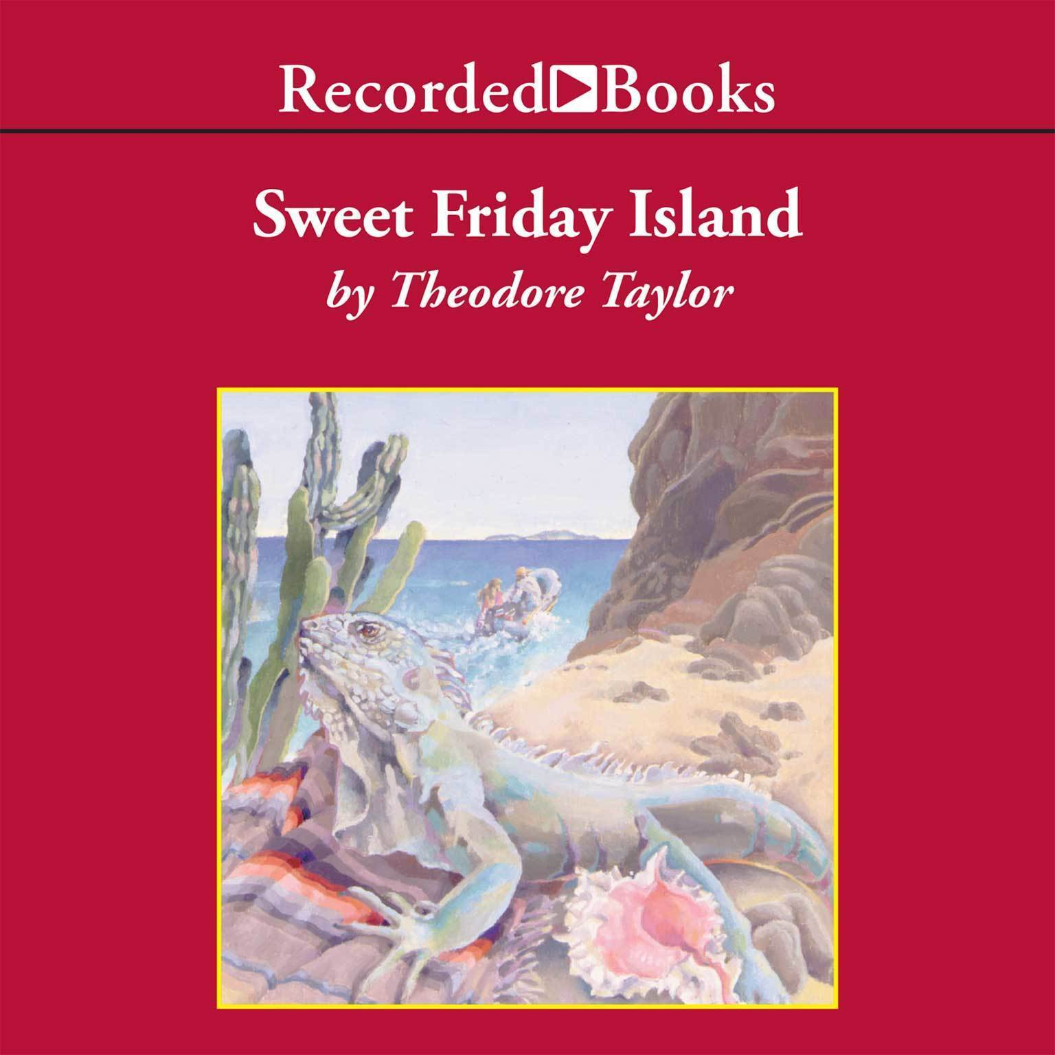 Printable Sweet Friday Island Audiobook Cover Art