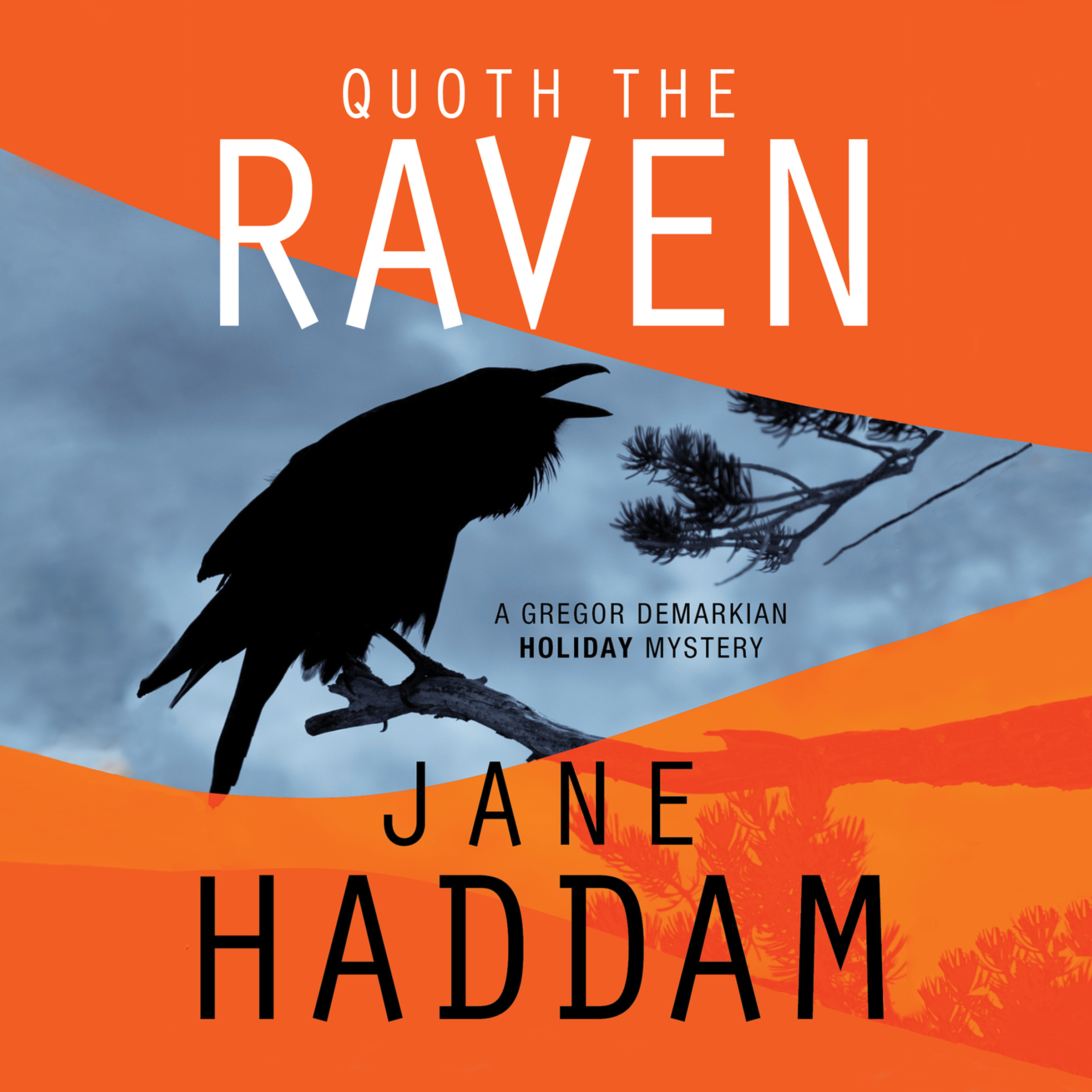 Printable Quoth the Raven Audiobook Cover Art