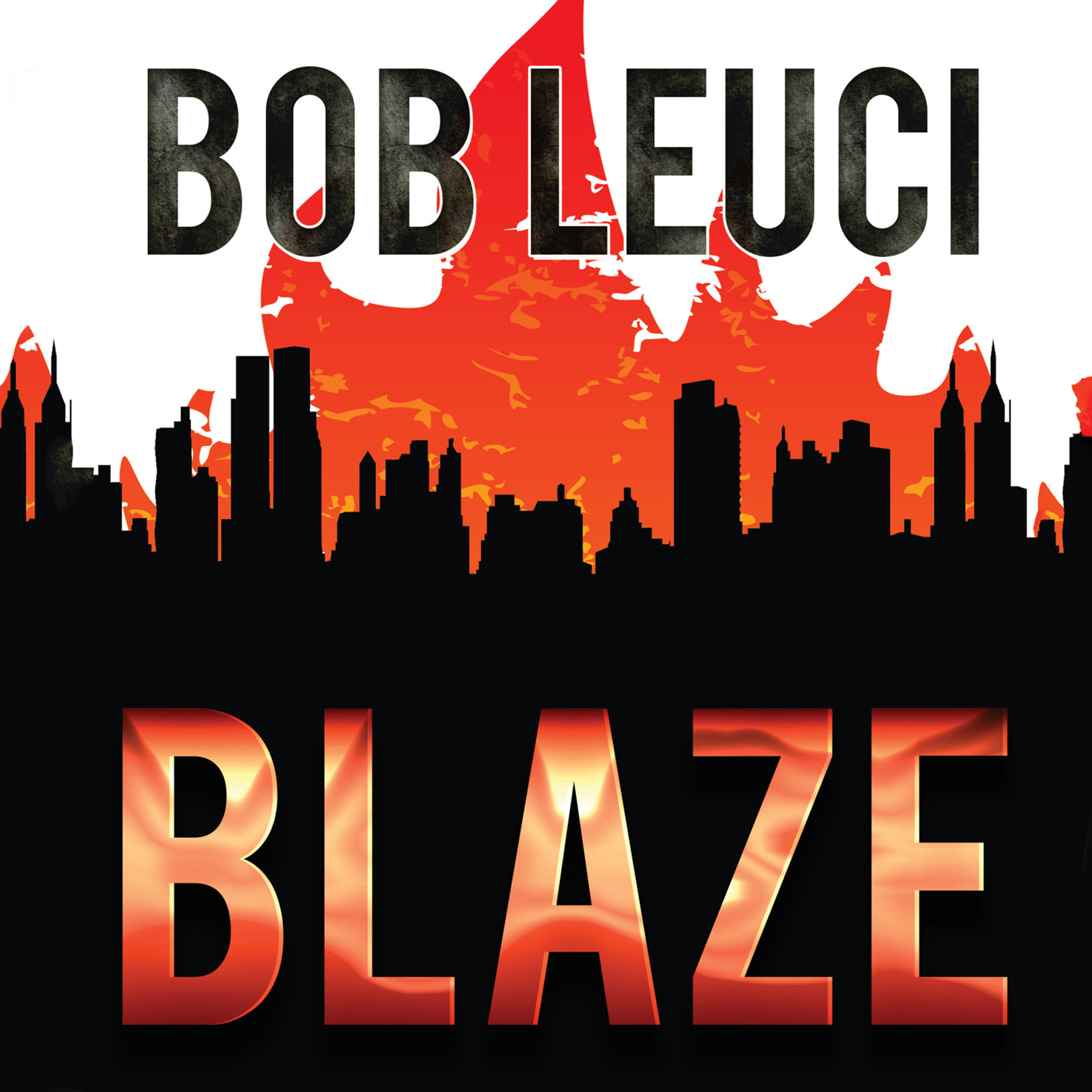 Printable Blaze Audiobook Cover Art