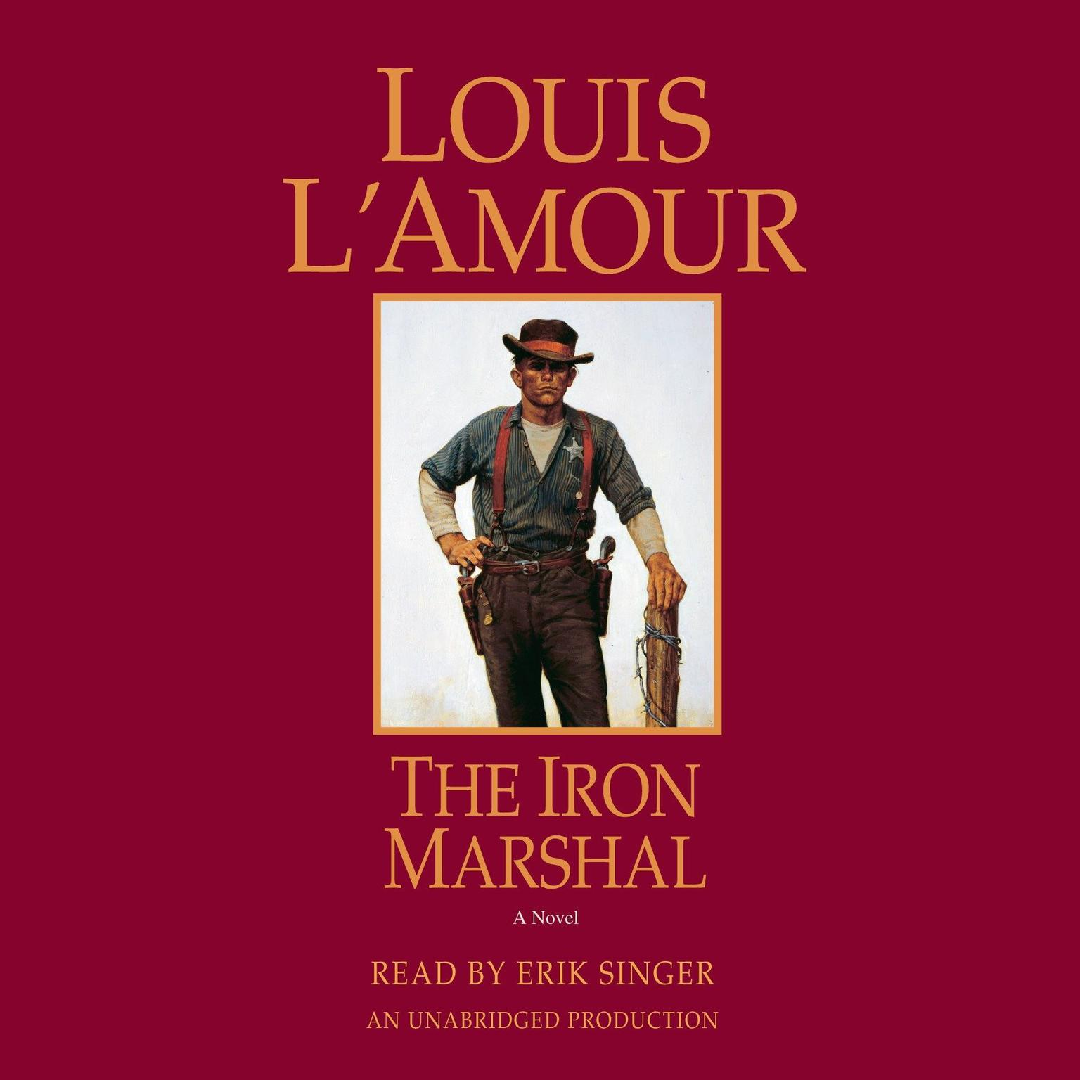 Printable The Iron Marshal: A Novel Audiobook Cover Art