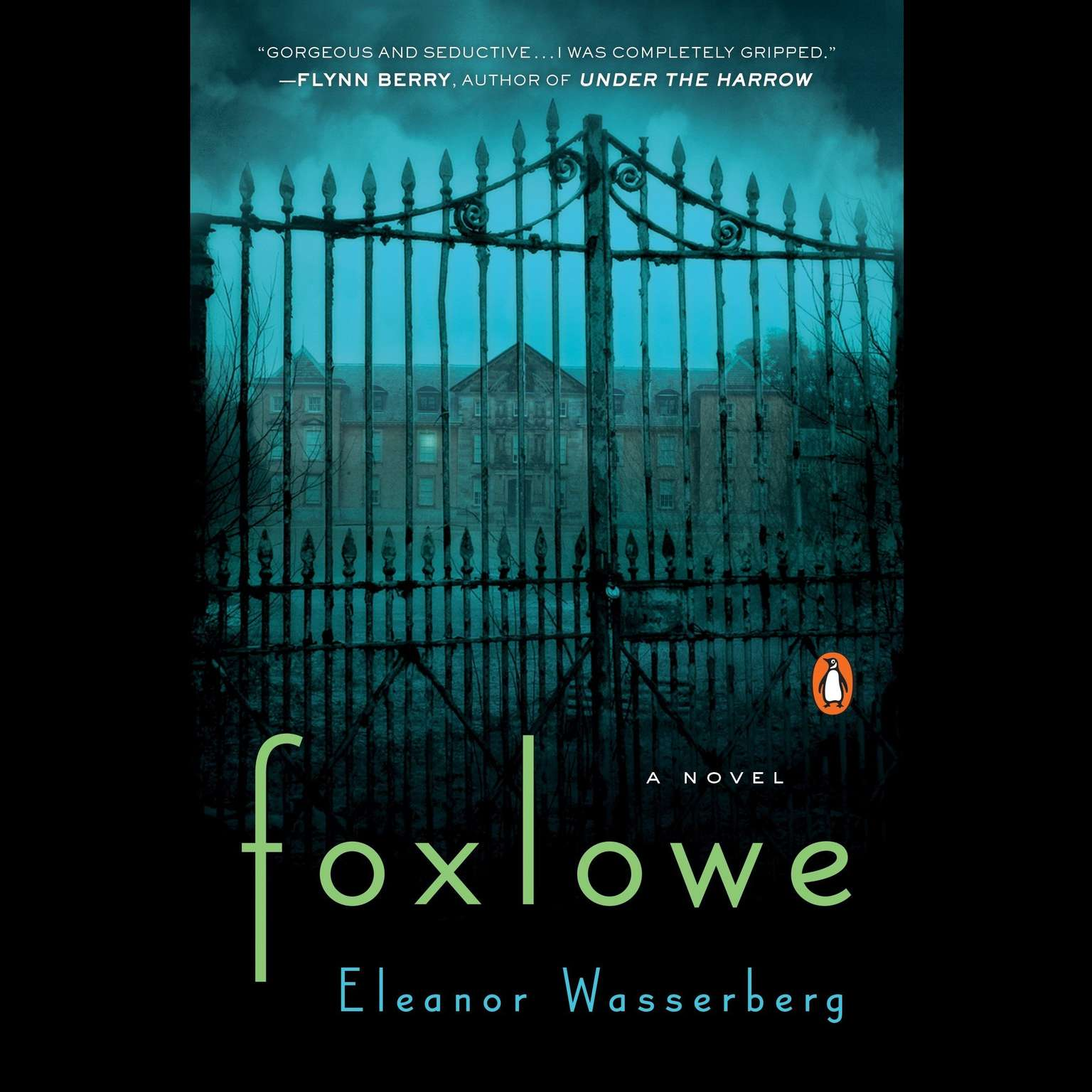 Printable Foxlowe: A Novel Audiobook Cover Art