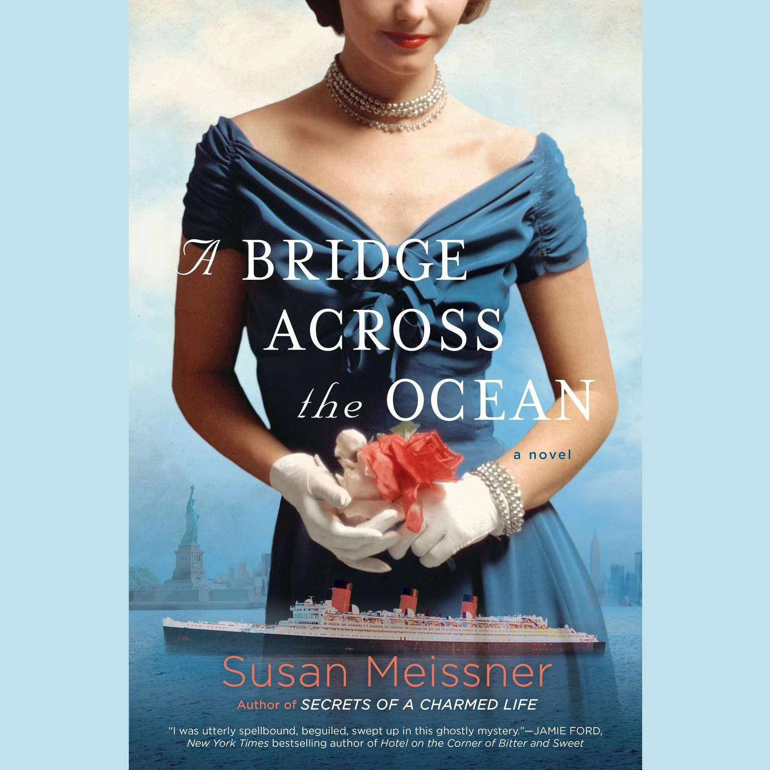 Printable A Bridge Across the Ocean Audiobook Cover Art