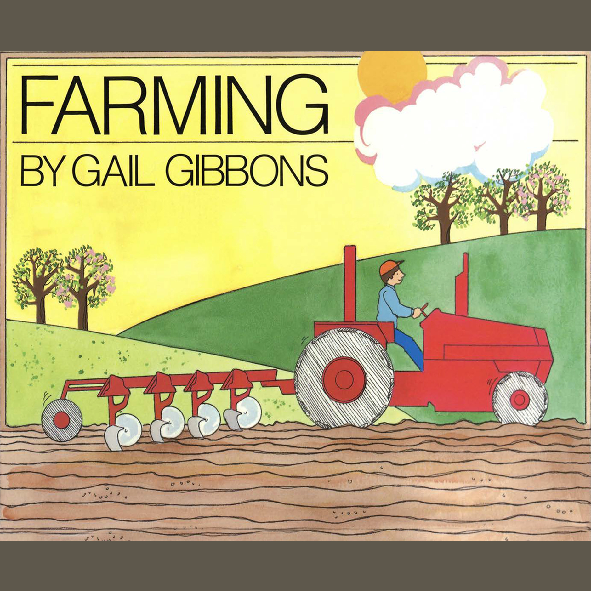 Printable Farming Audiobook Cover Art