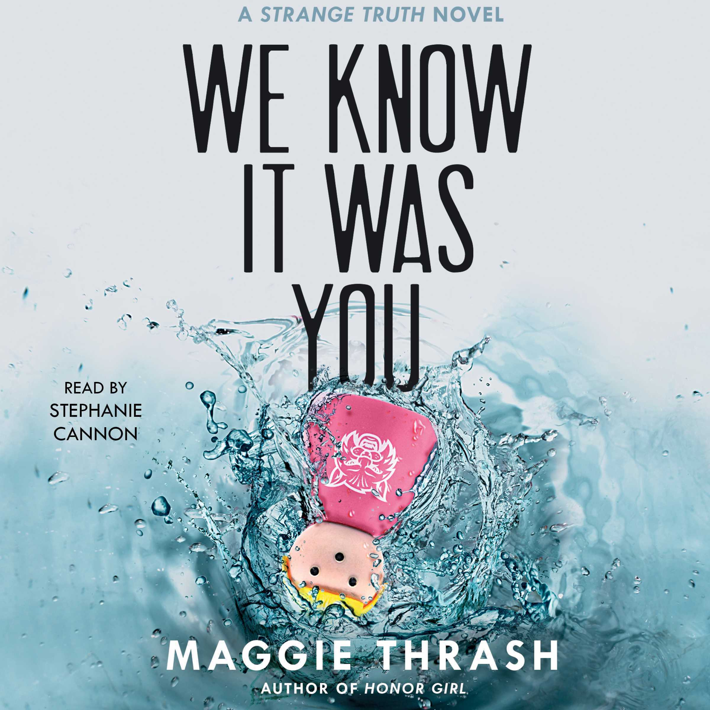 Printable We Know It Was You Audiobook Cover Art
