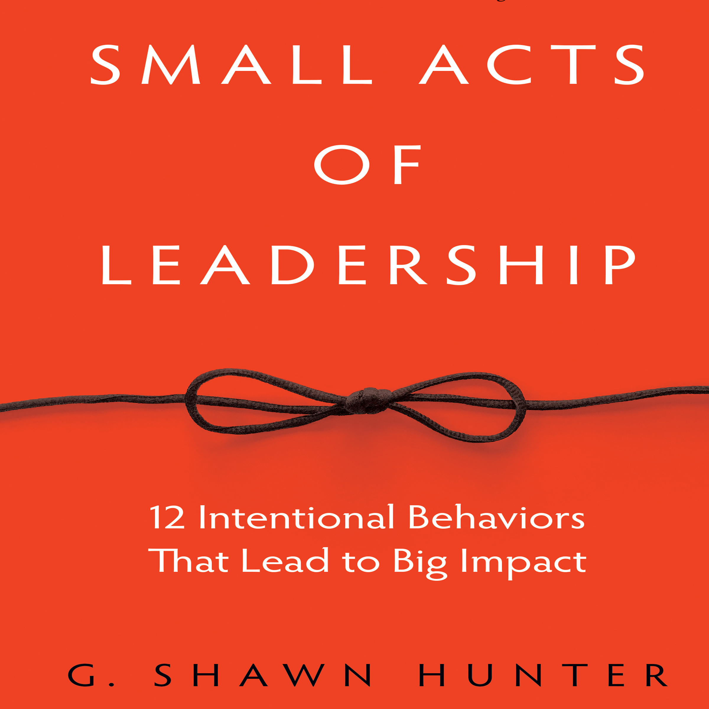 Printable Small Acts Leadership: 12 Intentional Behaviors That Lead to Big Impact Audiobook Cover Art