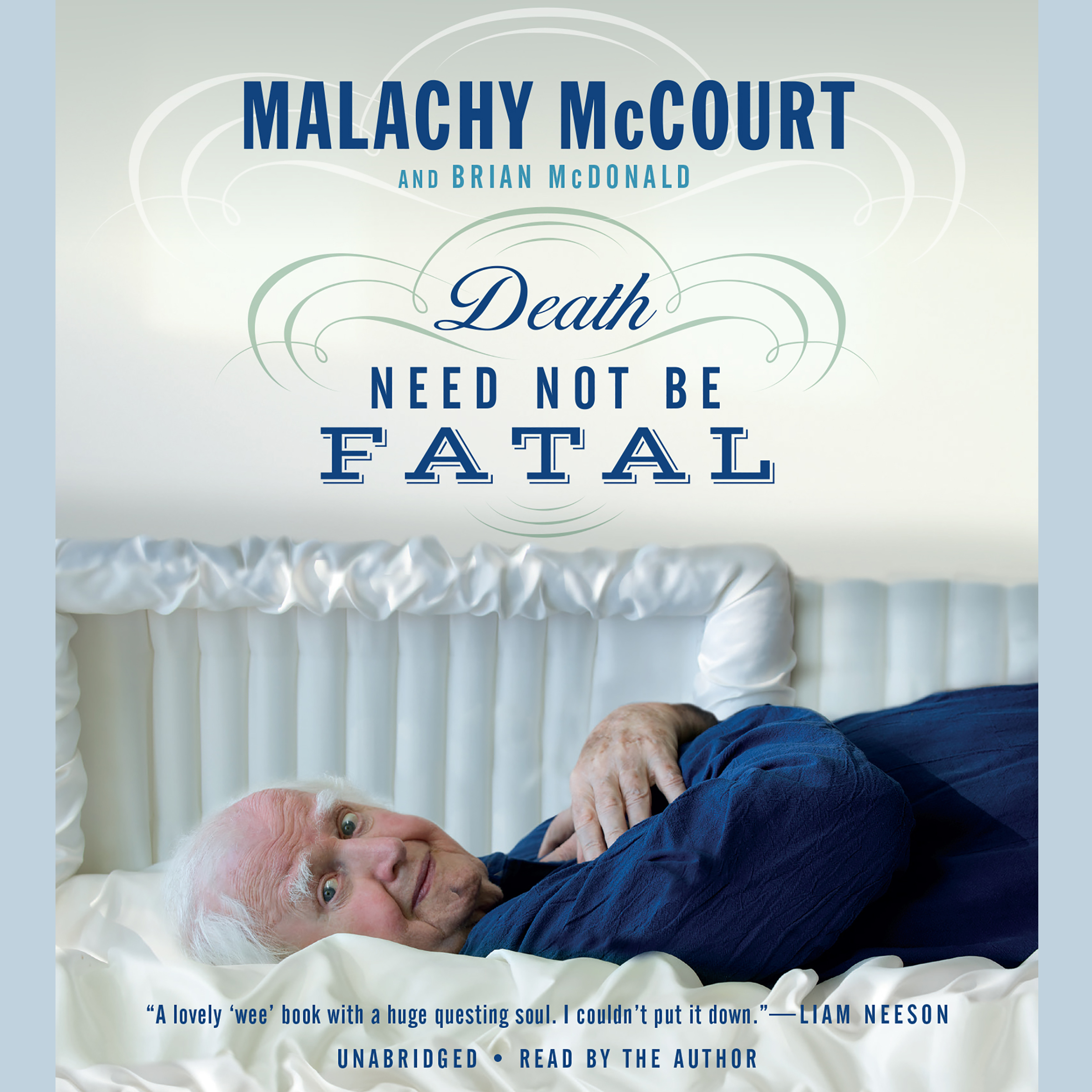 Printable Death Need Not Be Fatal Audiobook Cover Art