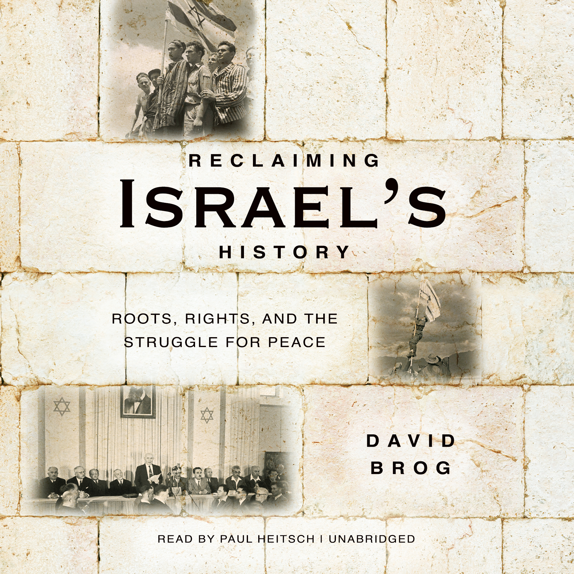 Printable Reclaiming Israel's History: Roots, Rights, and the Struggle for Peace Audiobook Cover Art