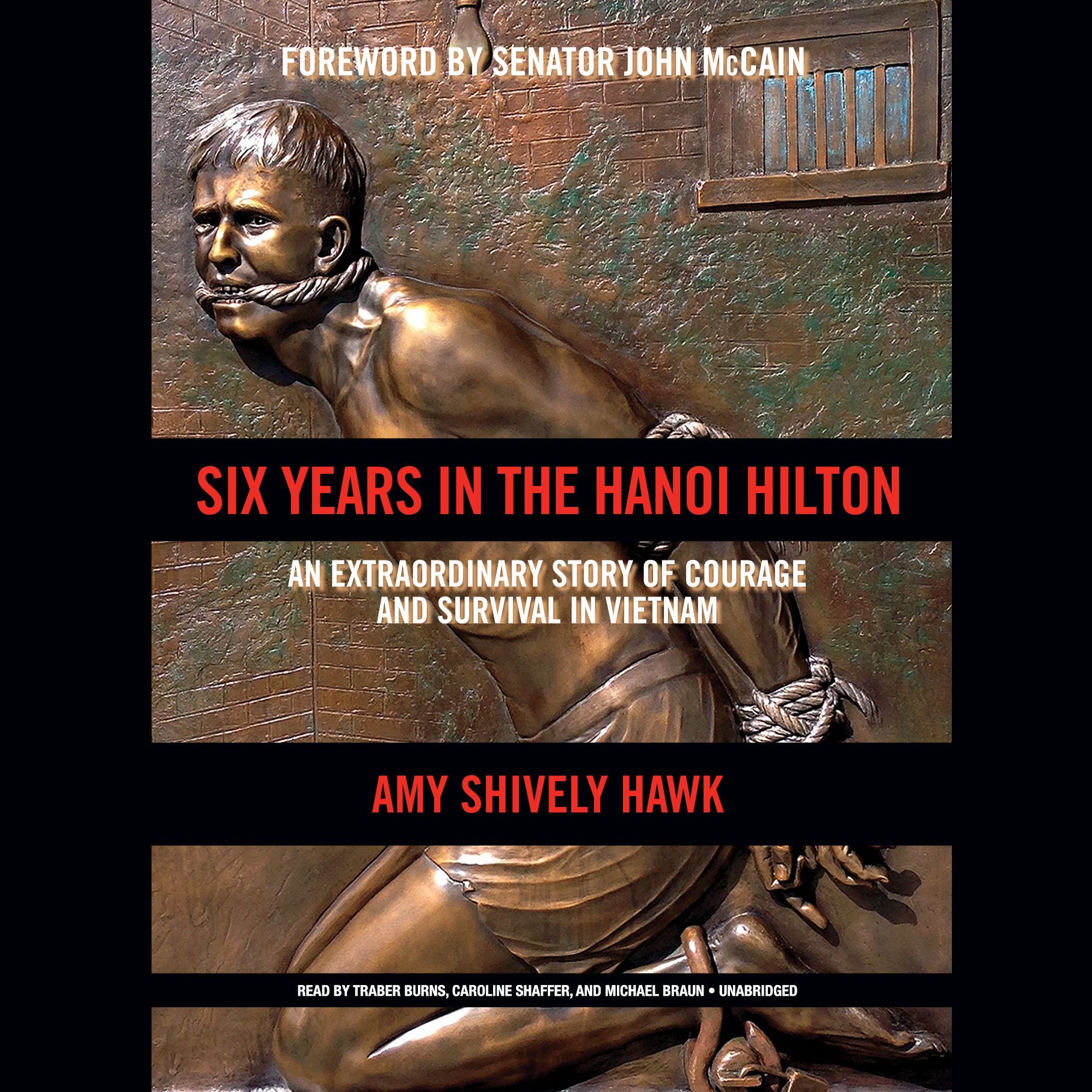 Printable Six Years in the Hanoi Hilton: An Extraordinary Story of Courage and Survival in Vietnam Audiobook Cover Art
