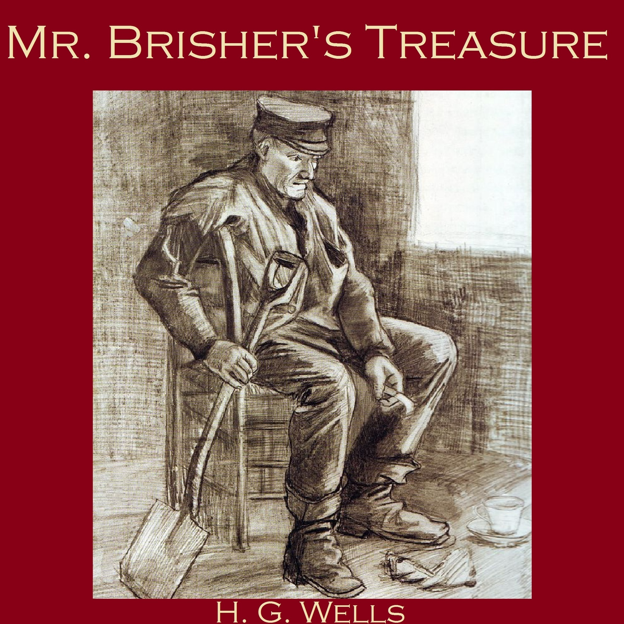 Printable Mr. Brisher's Treasure Audiobook Cover Art