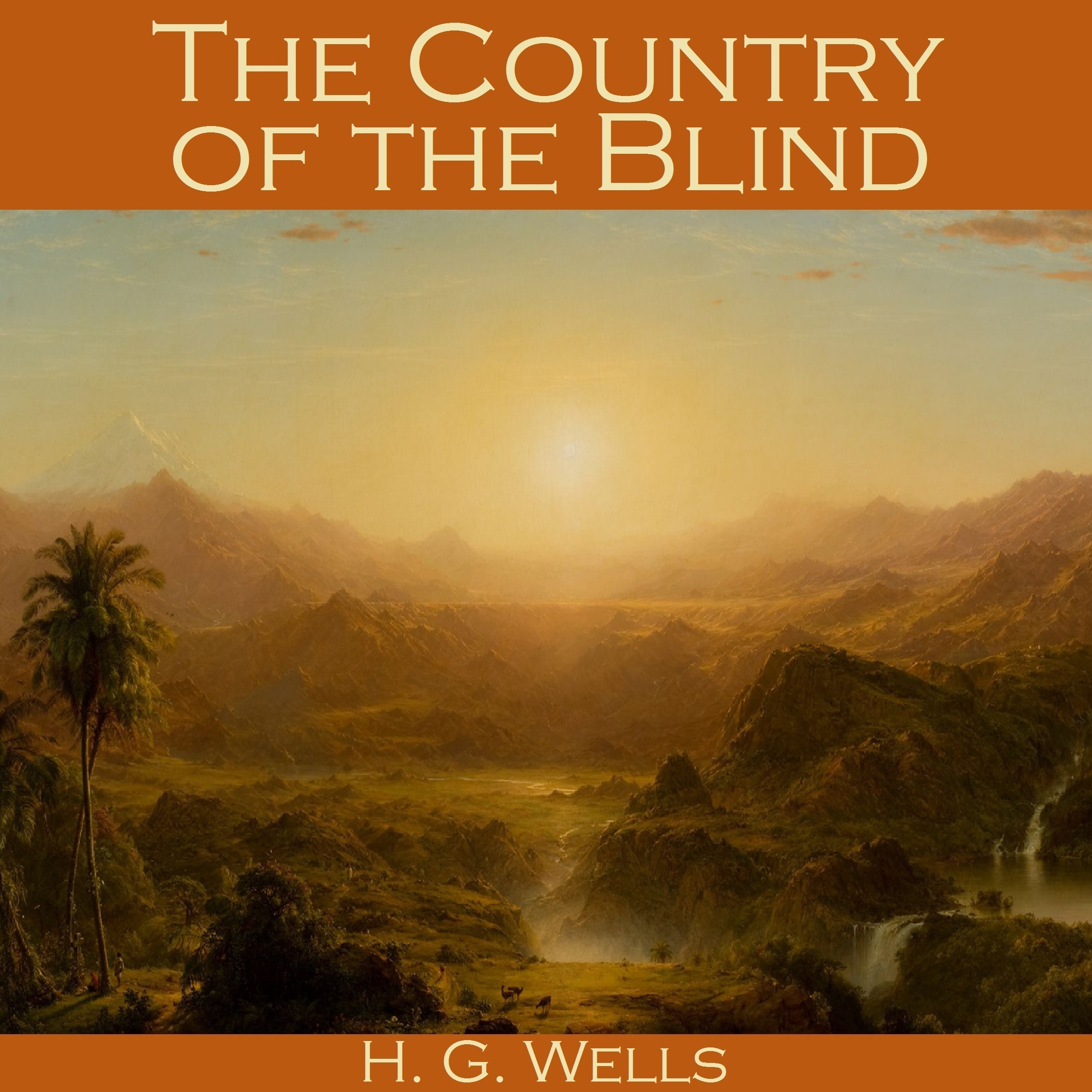 Printable The Country of the Blind Audiobook Cover Art