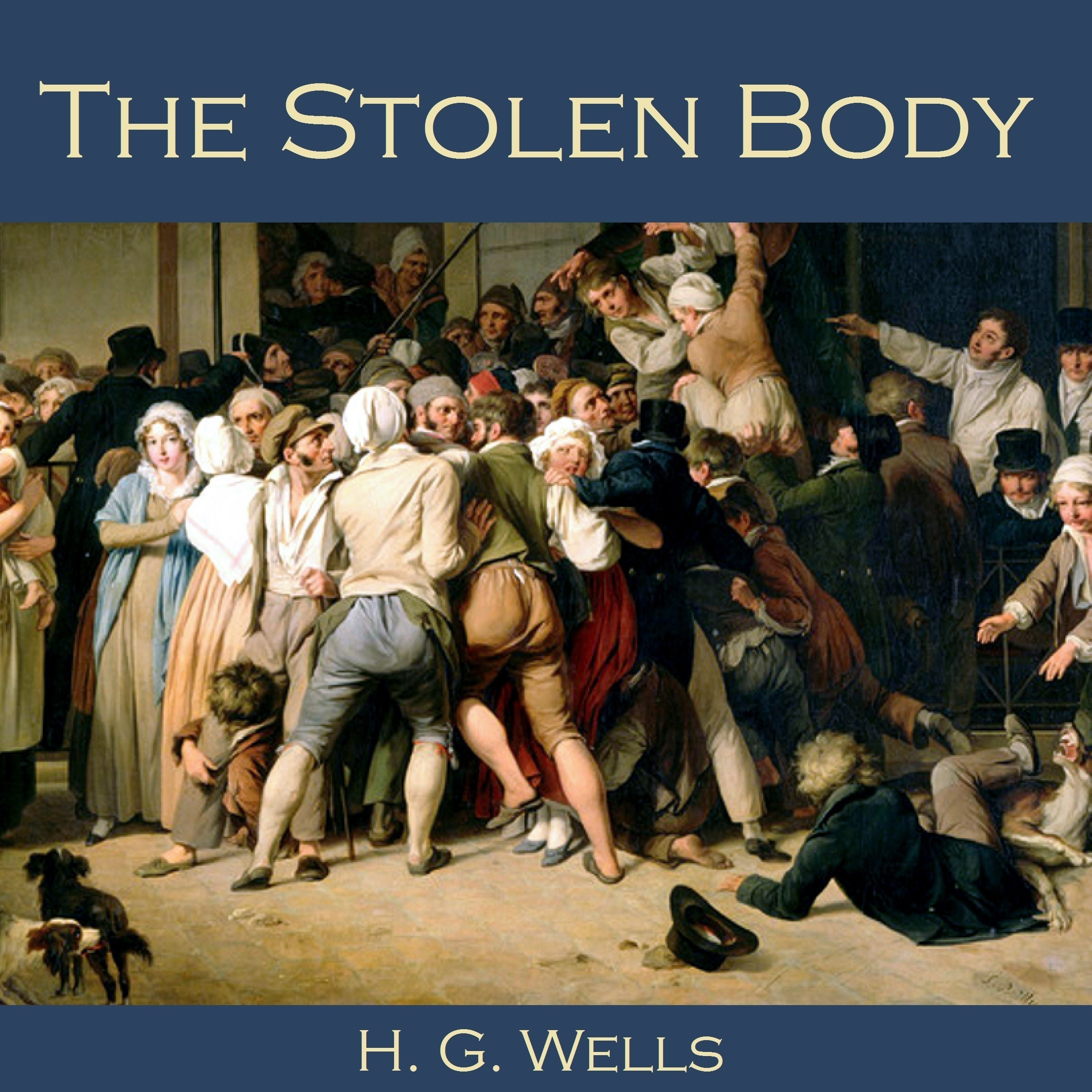 Printable The Stolen Body Audiobook Cover Art