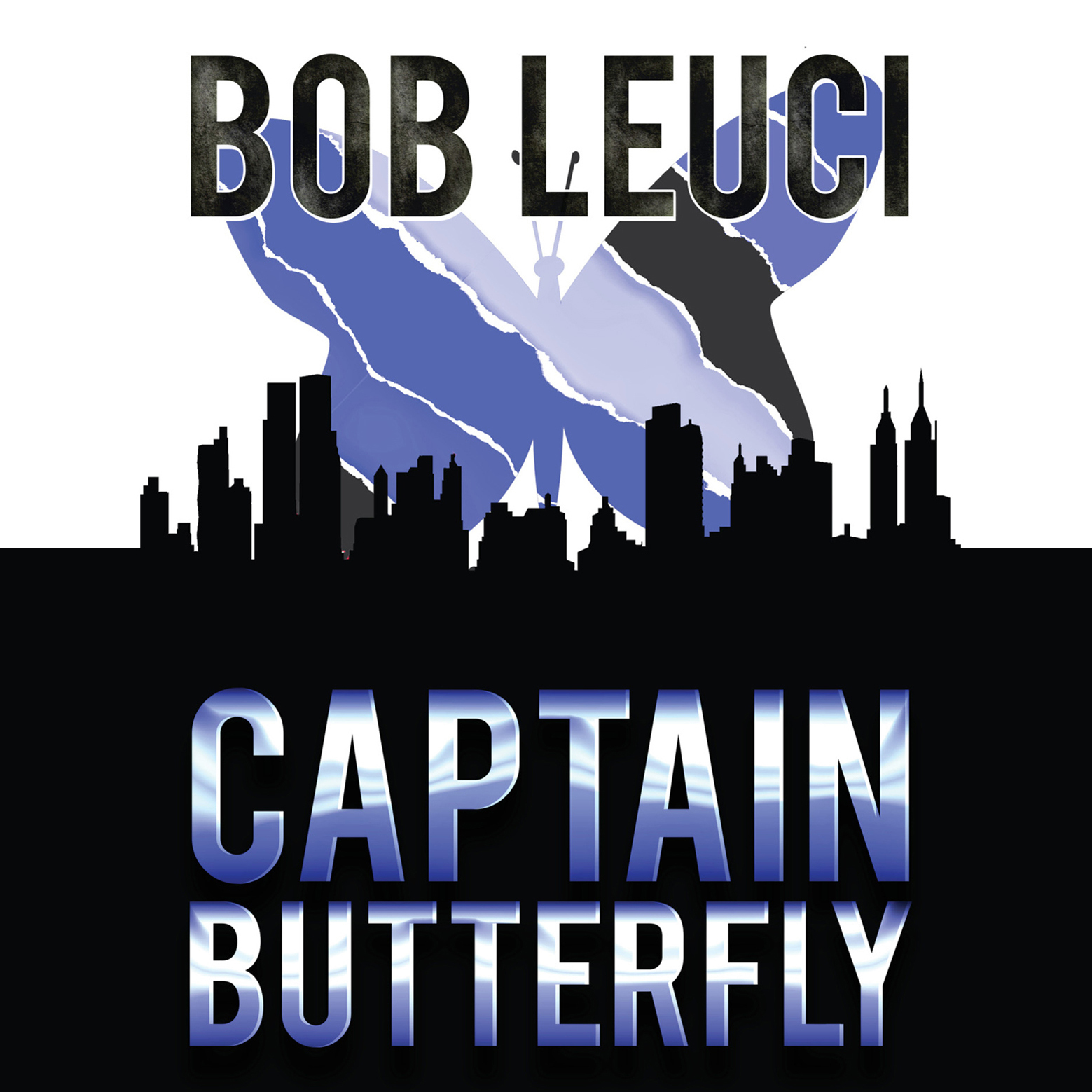 Printable Captain Butterfly Audiobook Cover Art