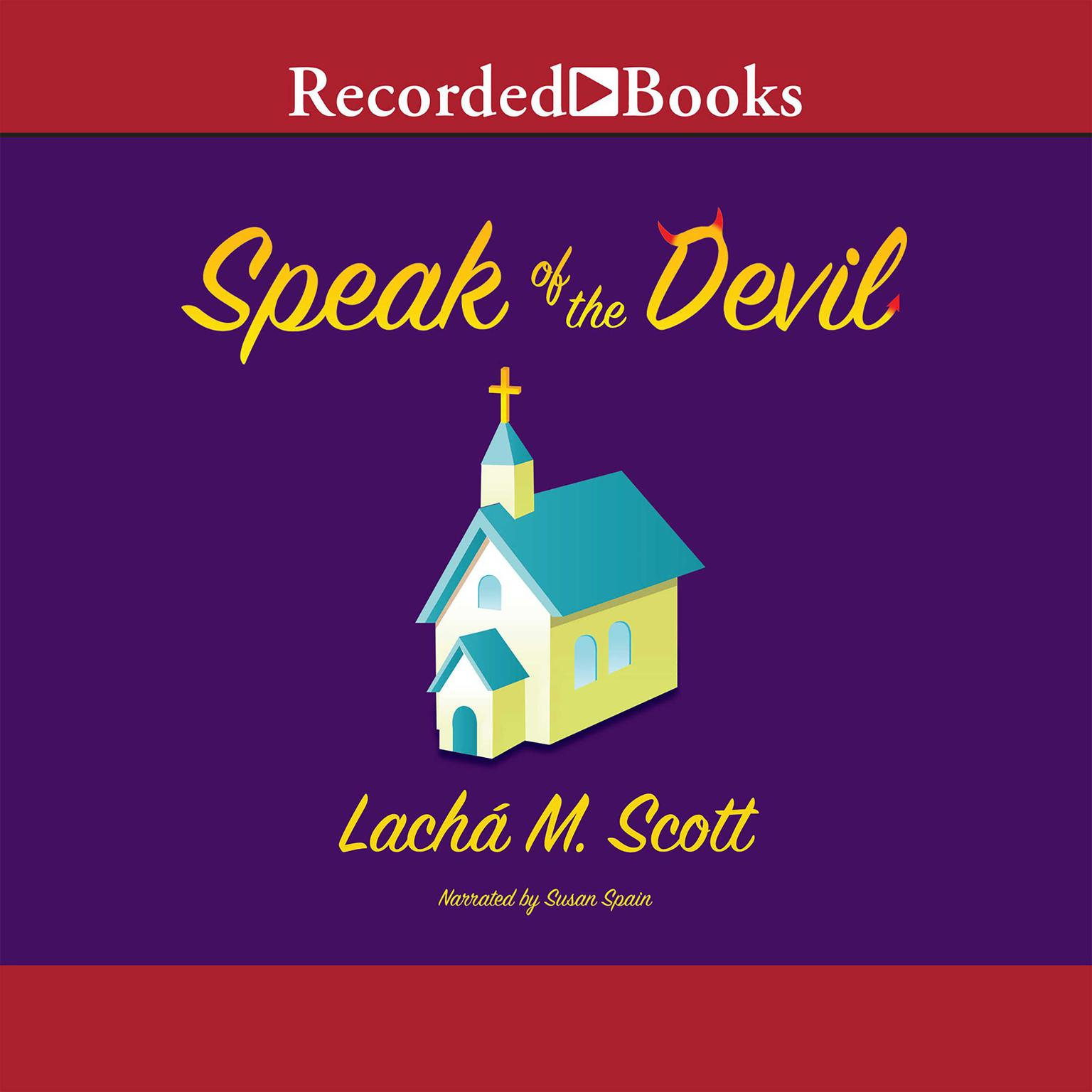 Printable Speak of the Devil Audiobook Cover Art