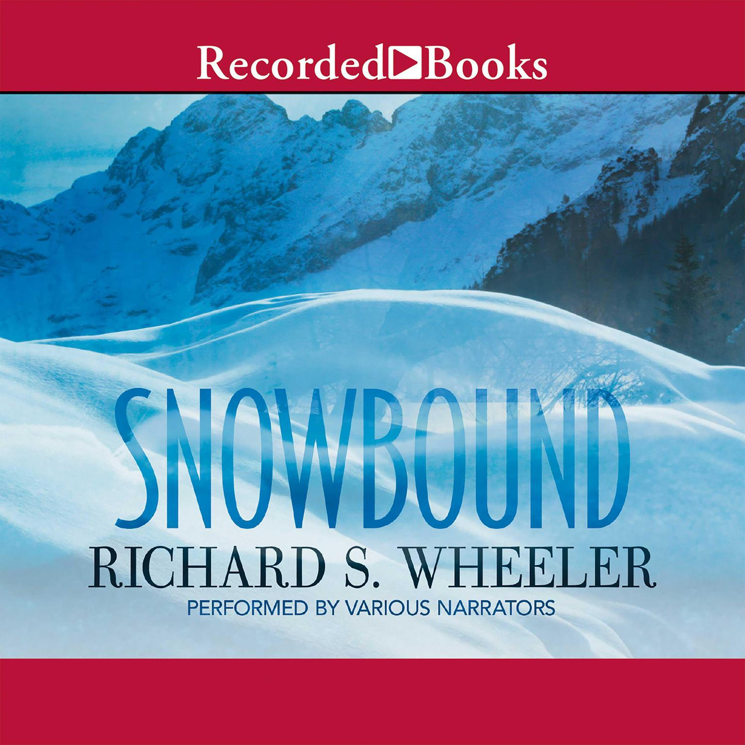 Printable Snowbound Audiobook Cover Art