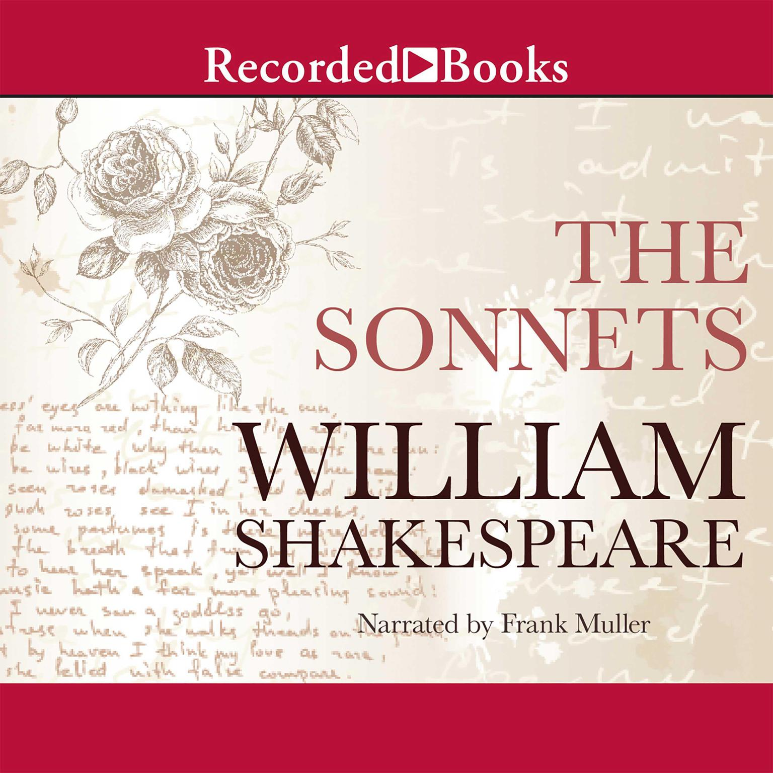 Printable The Sonnets Audiobook Cover Art