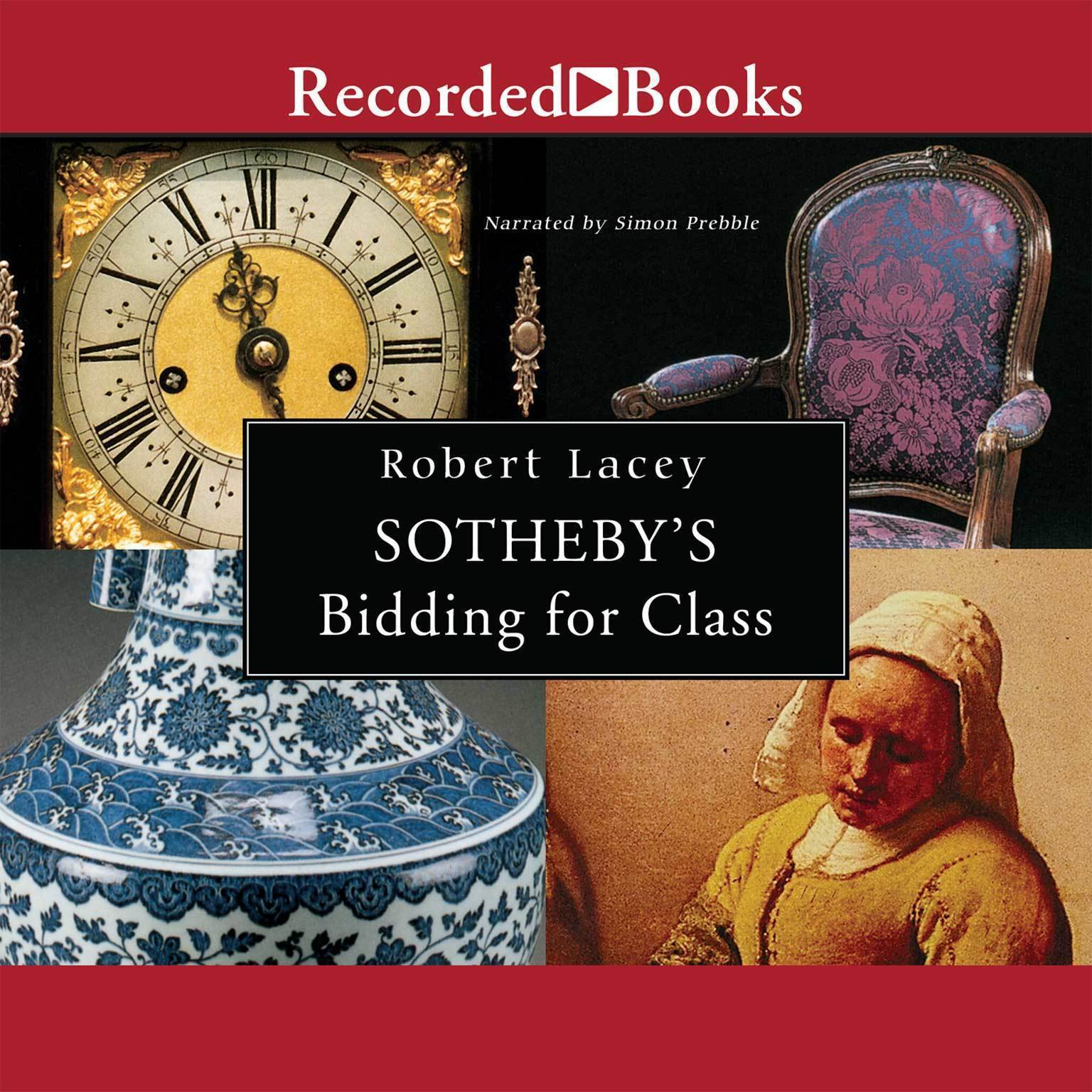 Printable Sotheby's—Bidding for Class Audiobook Cover Art