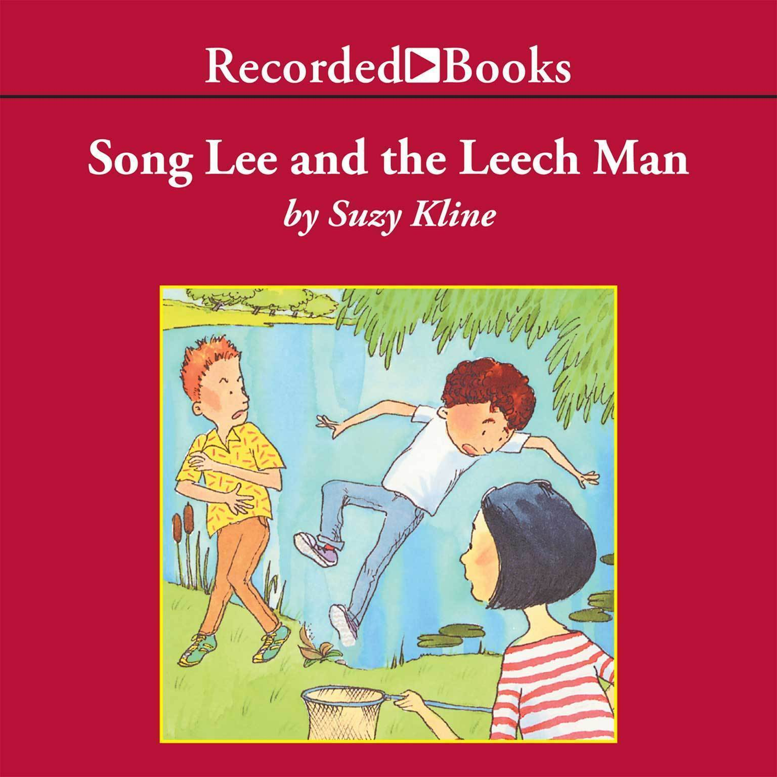 Printable Song Lee and the Leech Man Audiobook Cover Art