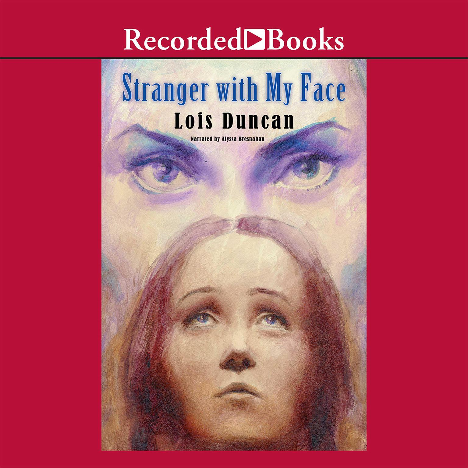 Printable Stranger with My Face Audiobook Cover Art